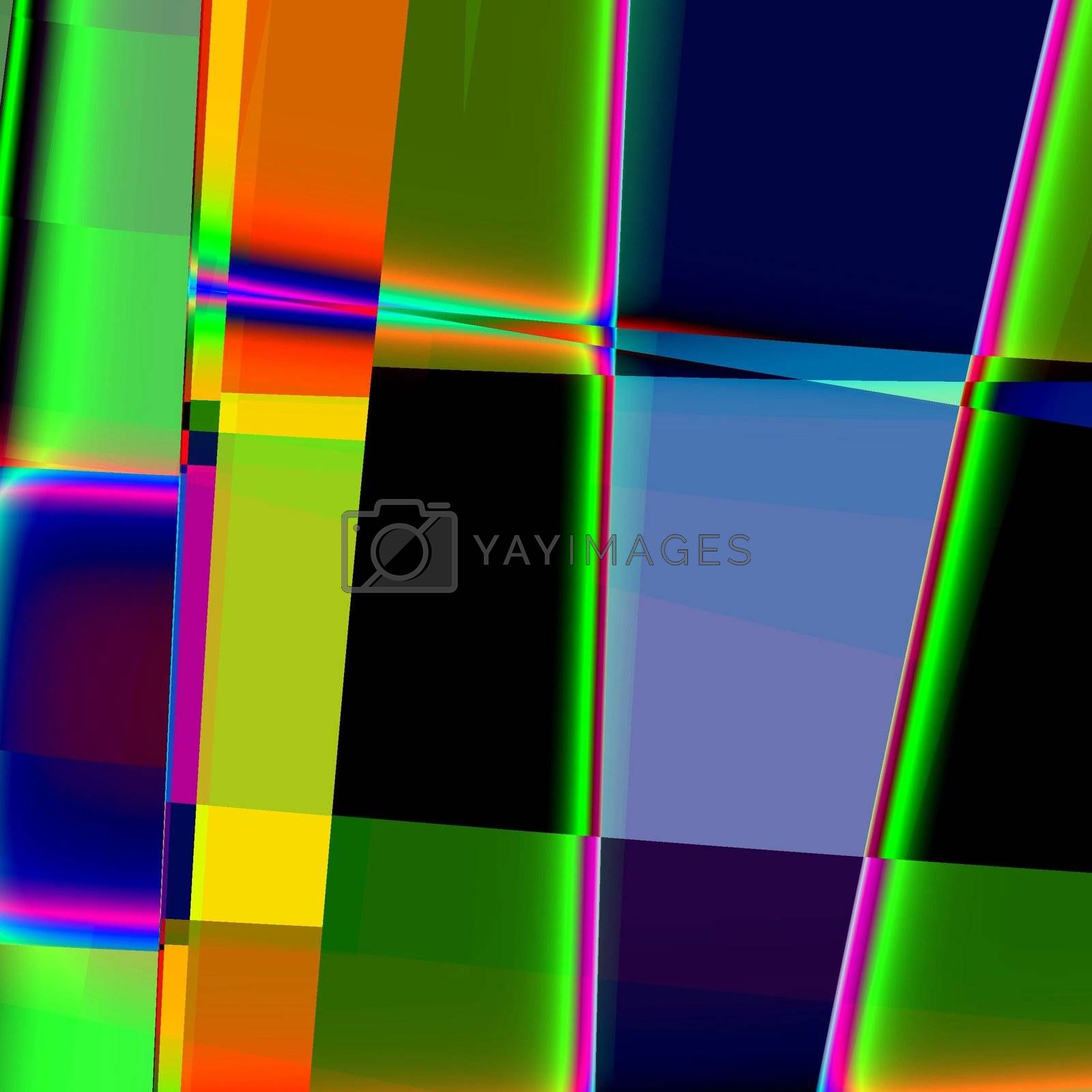 colorful abstract retro background