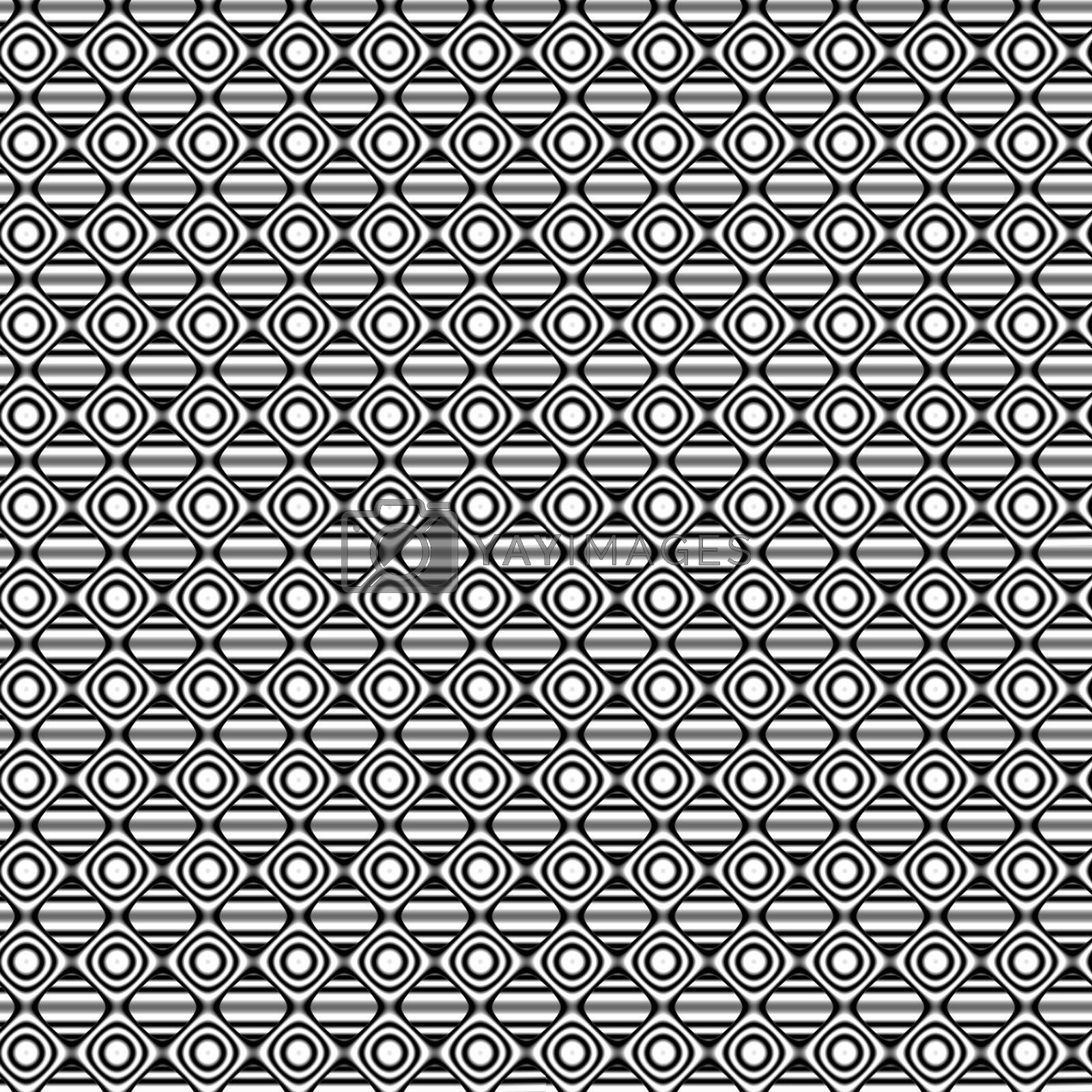tiling black-and-white background by brigg