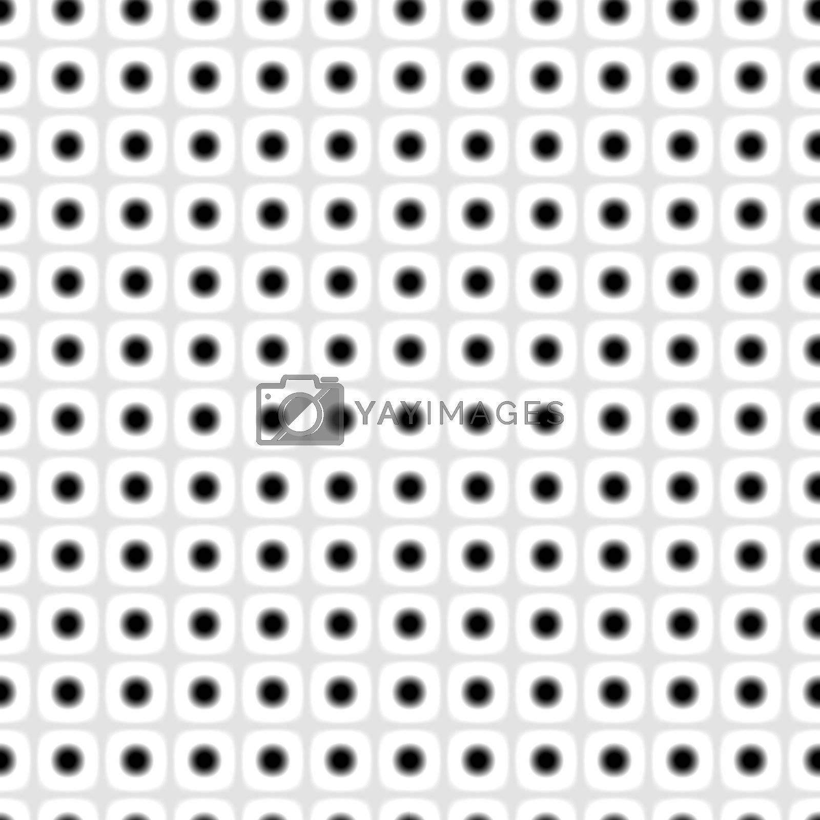 small fractal dots, forming a tiling black-and-white background