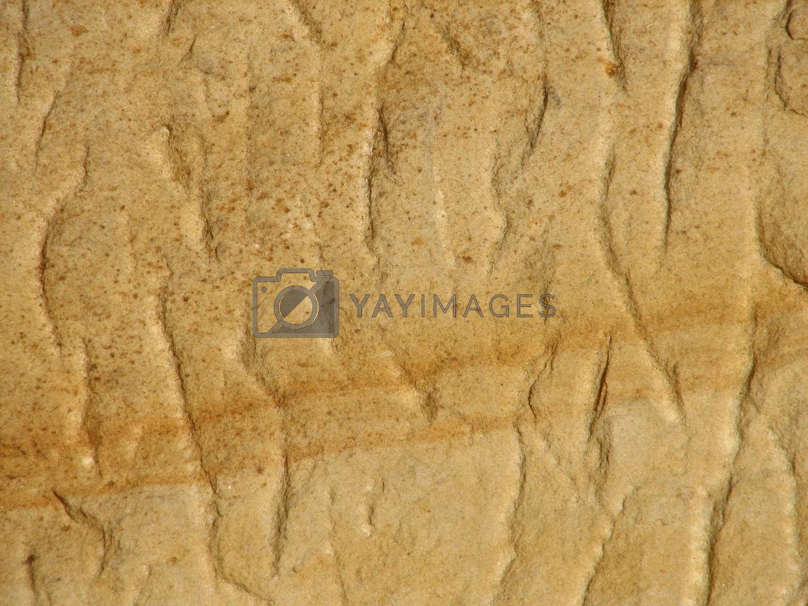 natural colored sandstone surface, usable as background