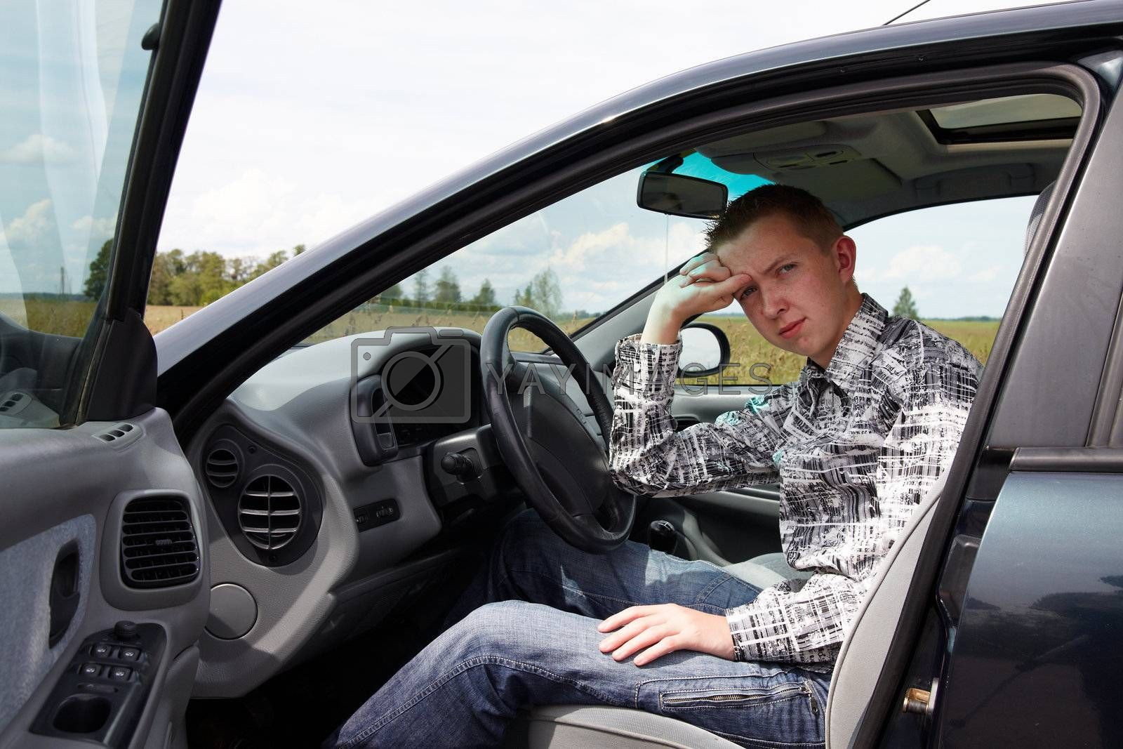 After the driving test young drivers reflect on the errors
