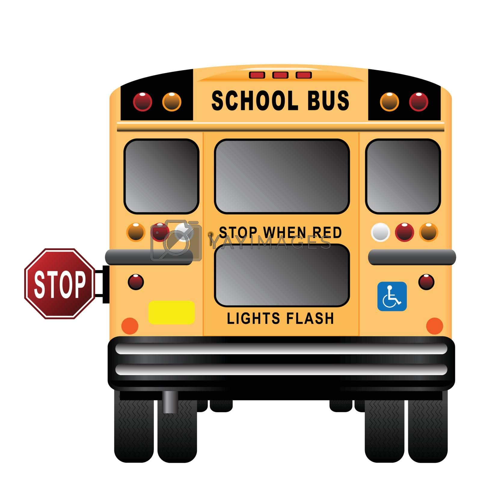 Royalty free image of School Bus Illustration by ajn