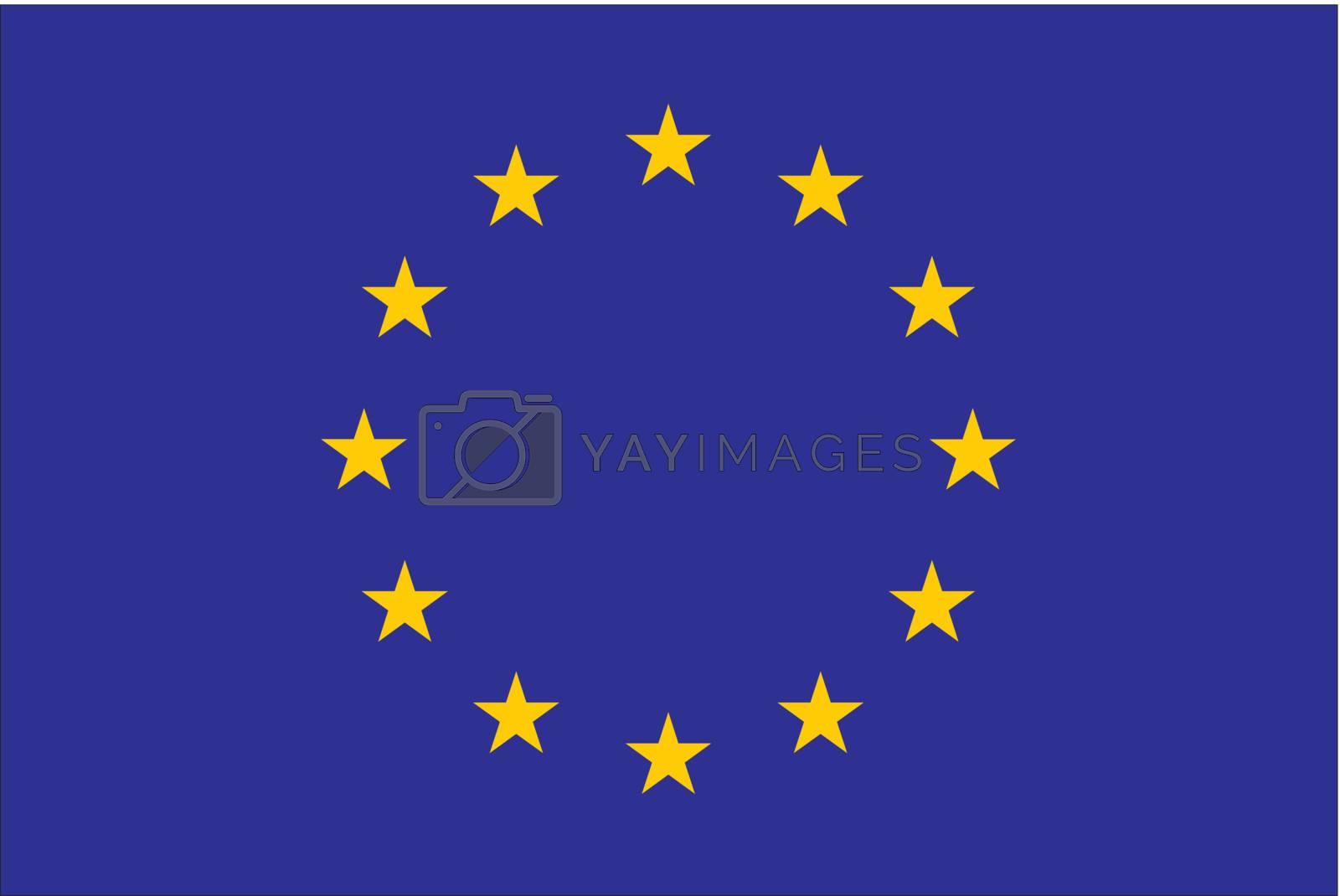 Royalty free image of European Union Flag by ajn