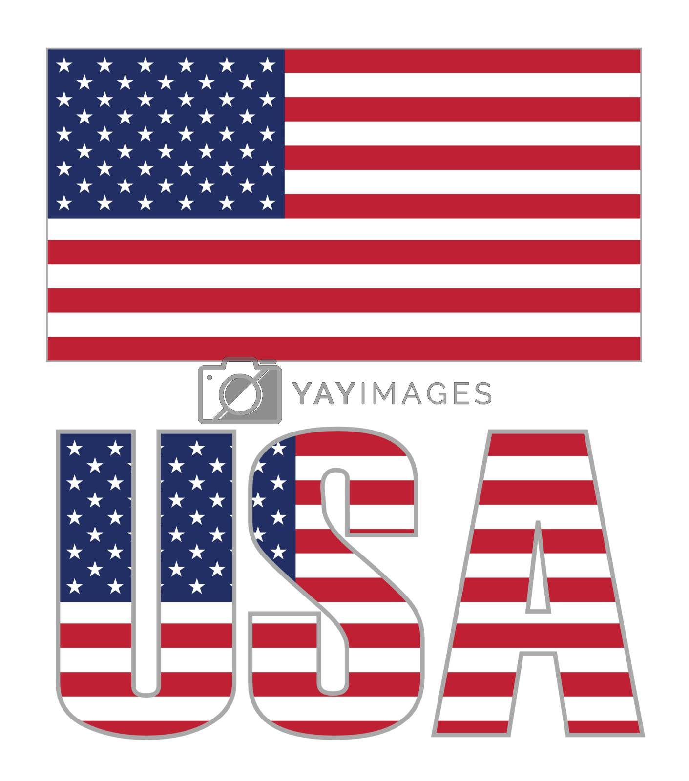 Royalty free image of USA Flag by ajn