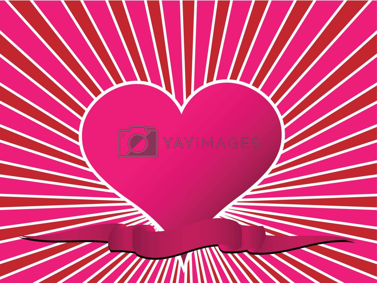 Royalty free image of Valentine's day theme pattern by ajn