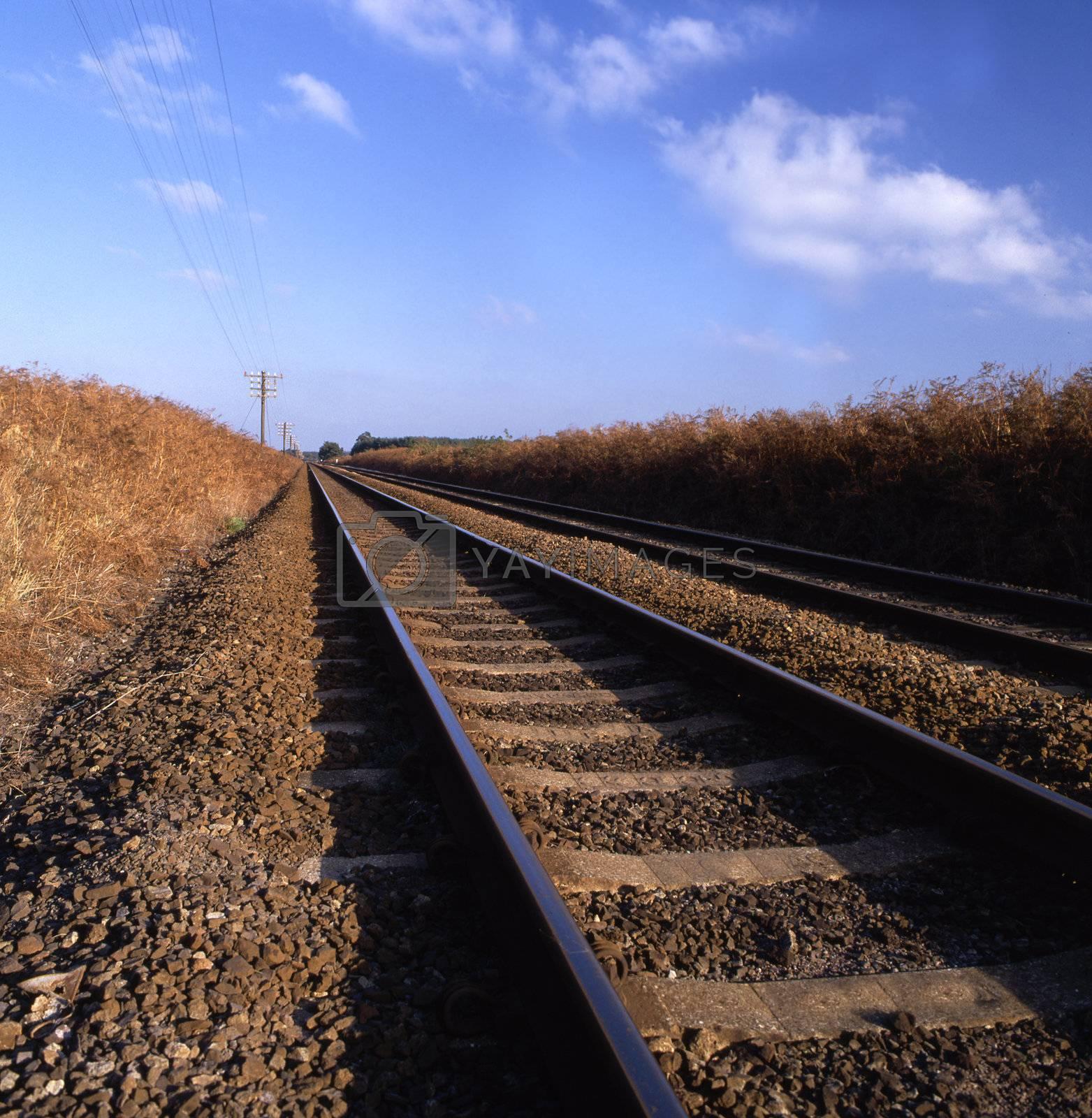 Rail track by runamock