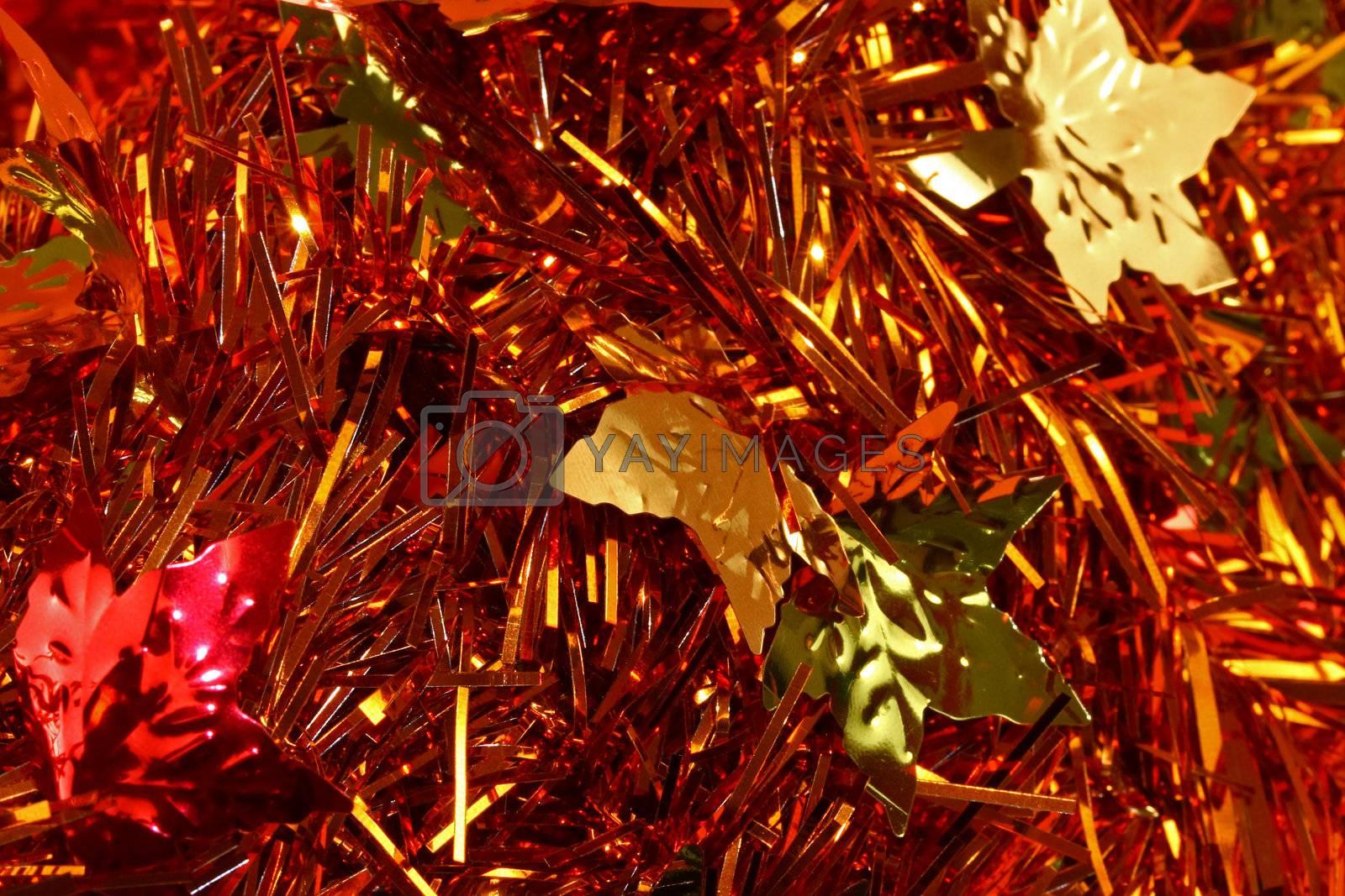 Autumn wreath macro