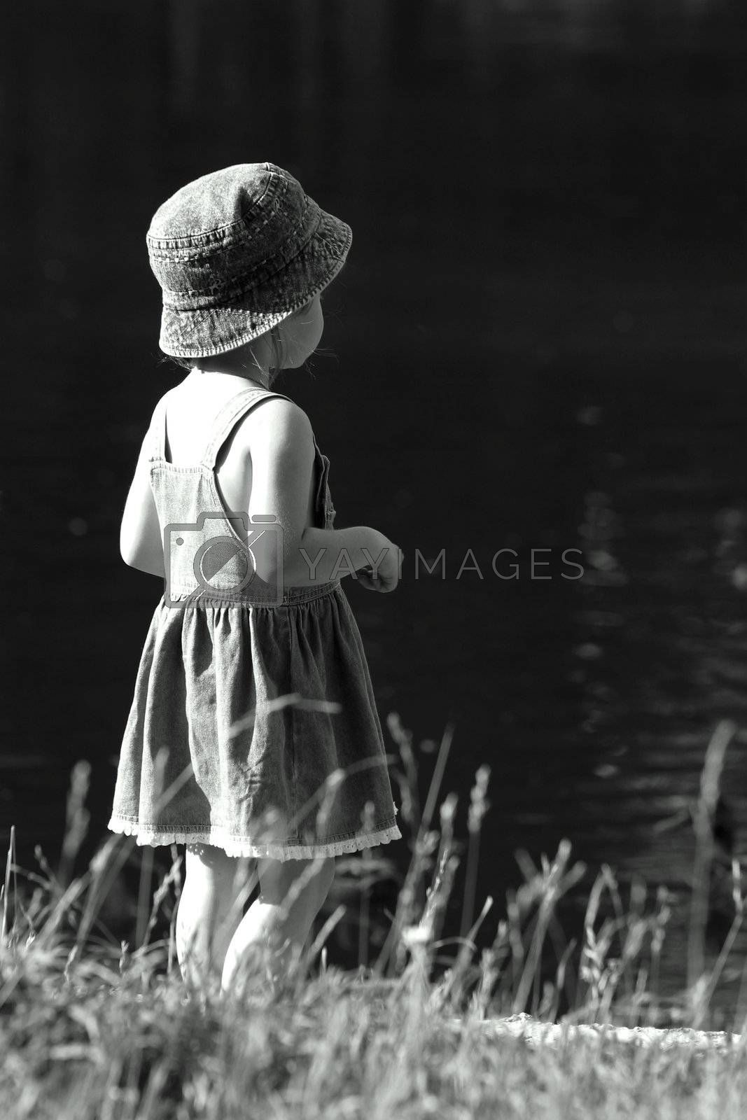 Royalty free image of Walk on lake by friday