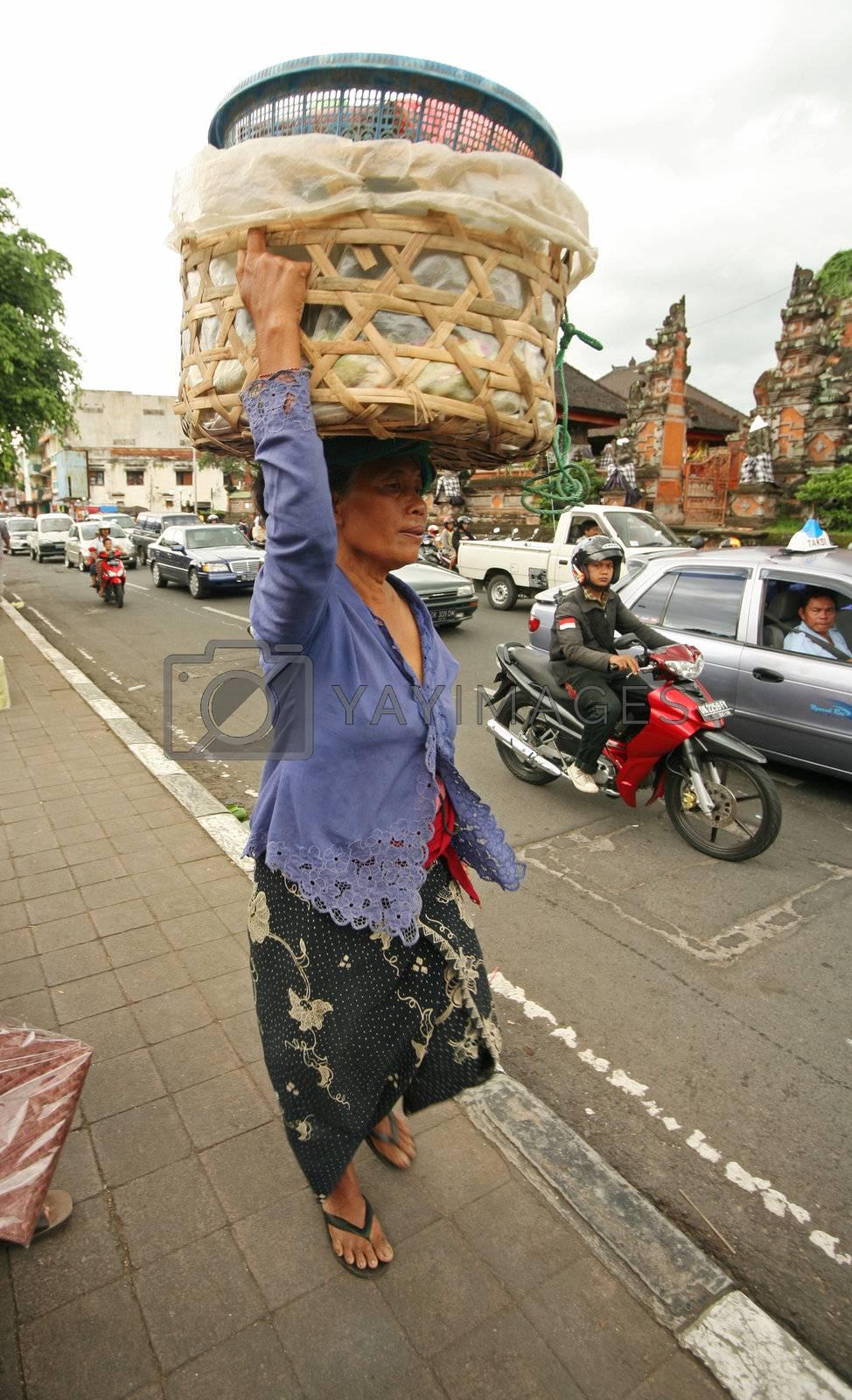 Saleswoman. Bali. Indonesia