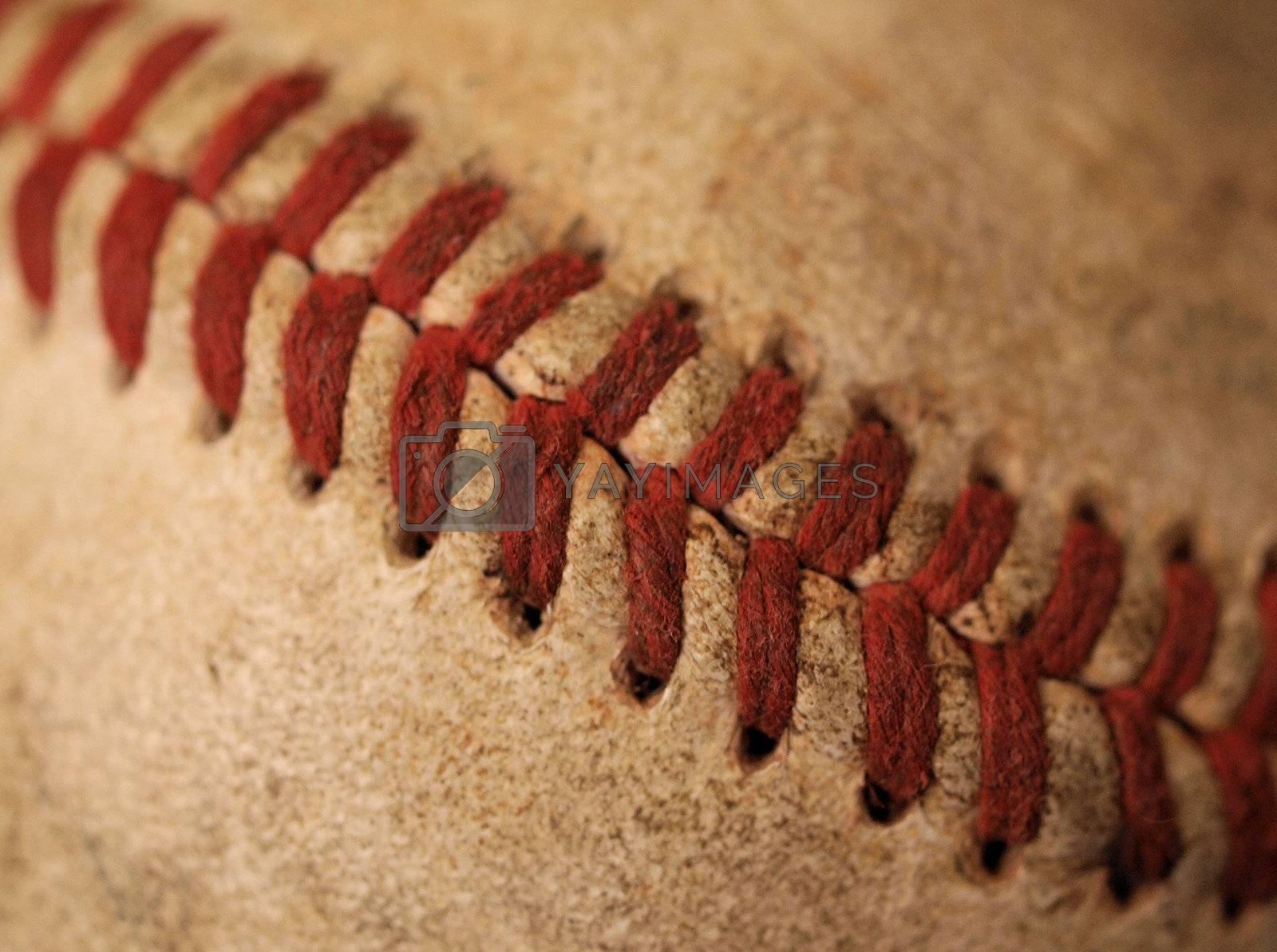 old baseball by northwoodsphoto