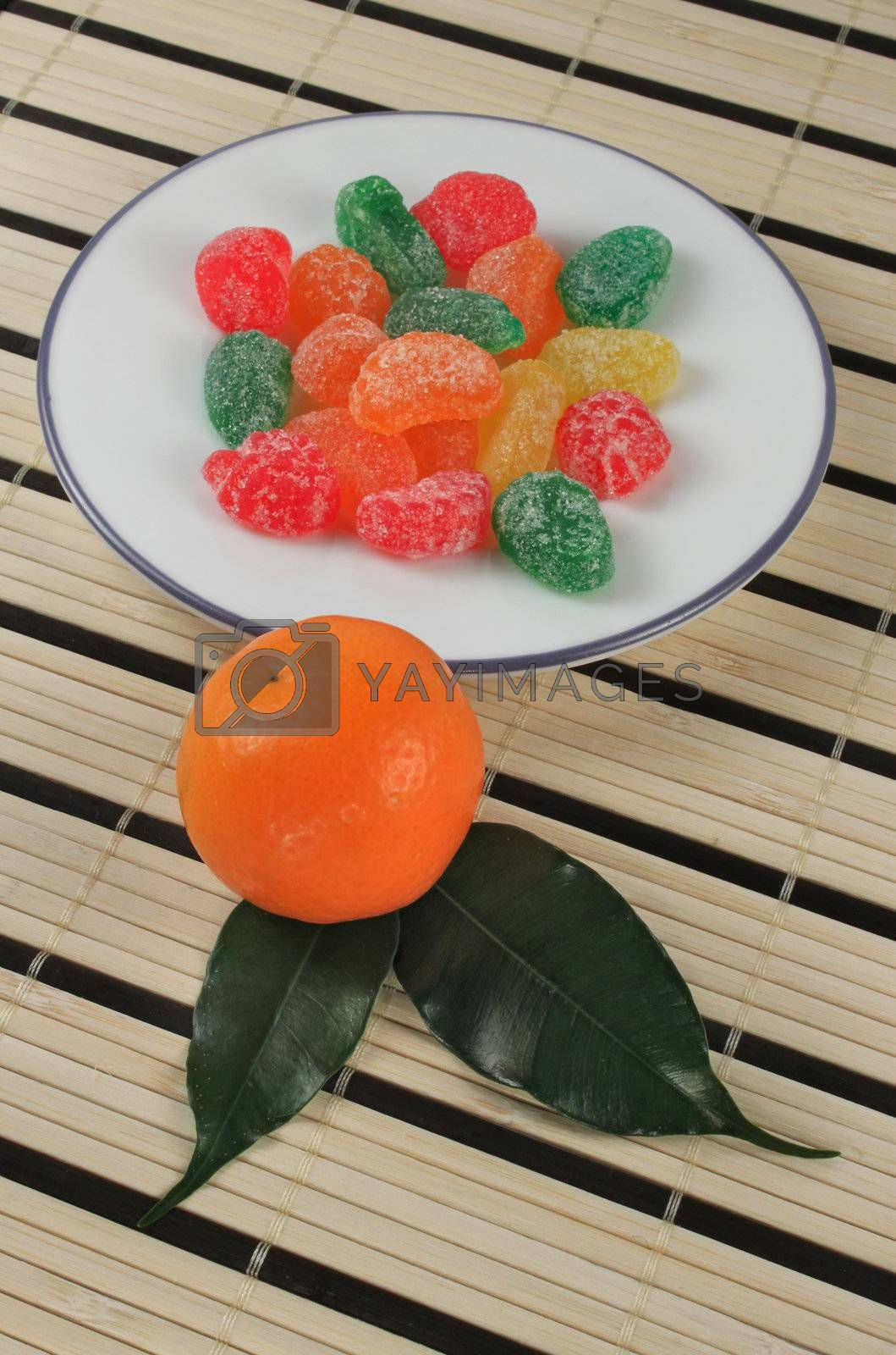 Colorful jelly candies  by cobalt