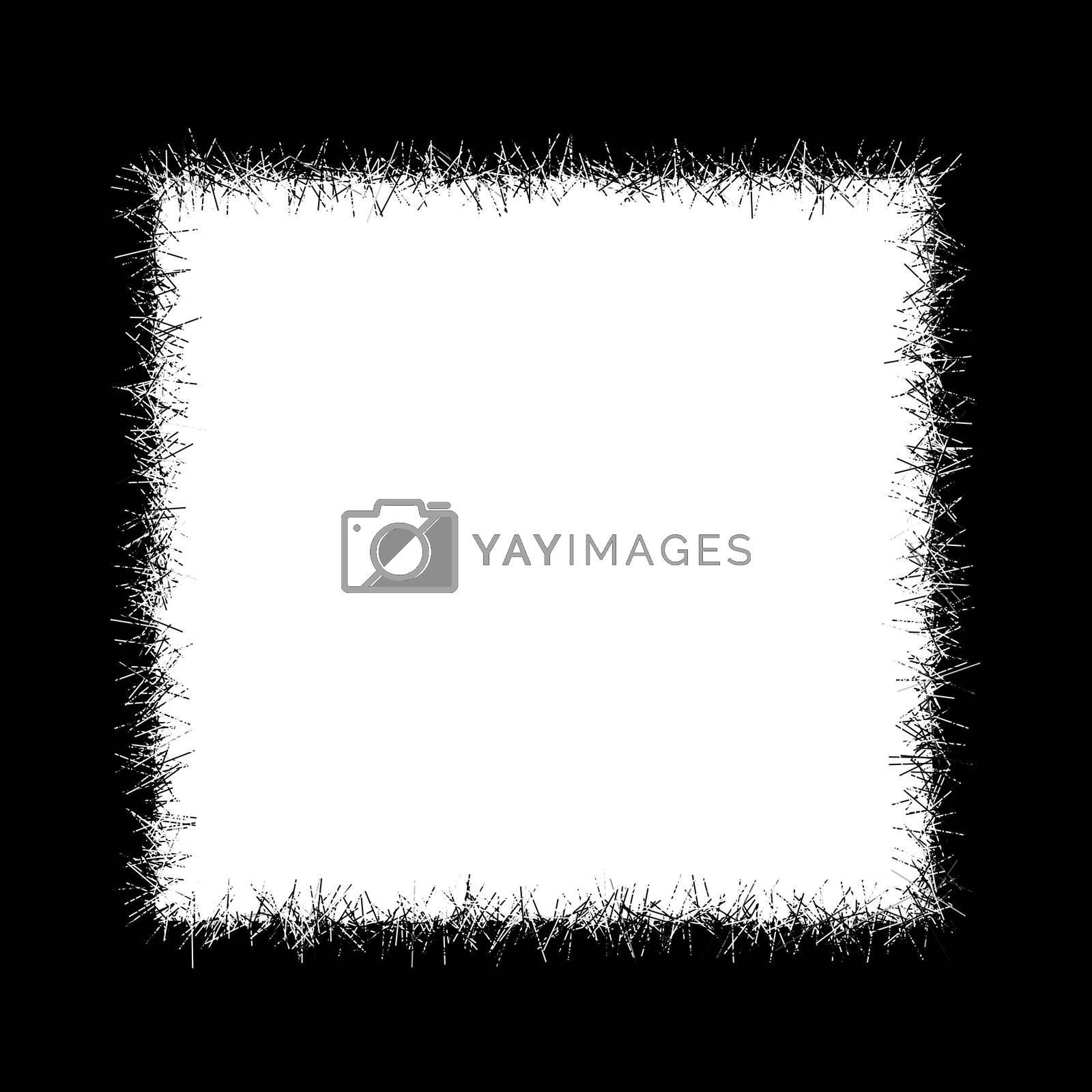 Black framework. A framework for a photo. A framework for drawings
