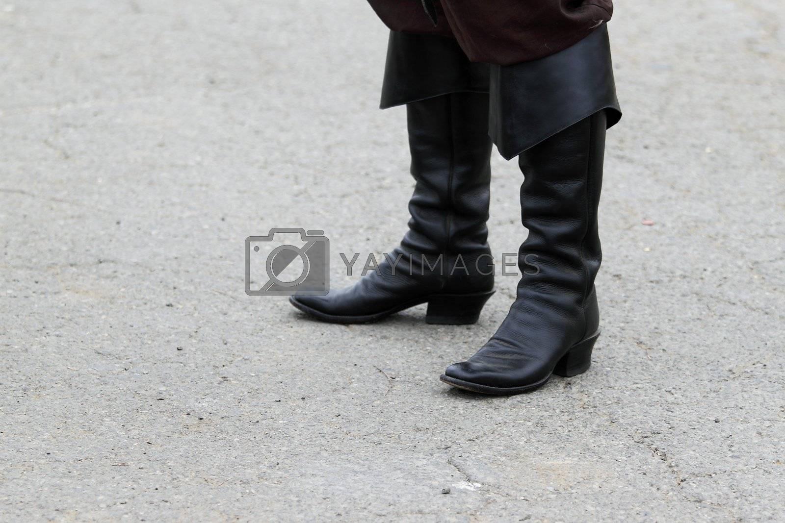 Black Boots by hlehnerer