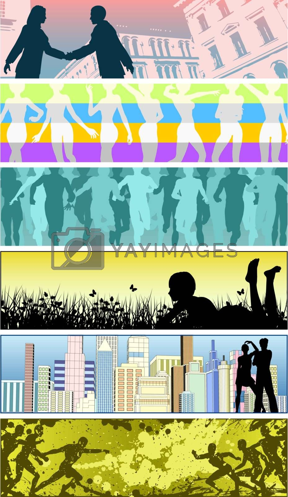 People banners by Tawng