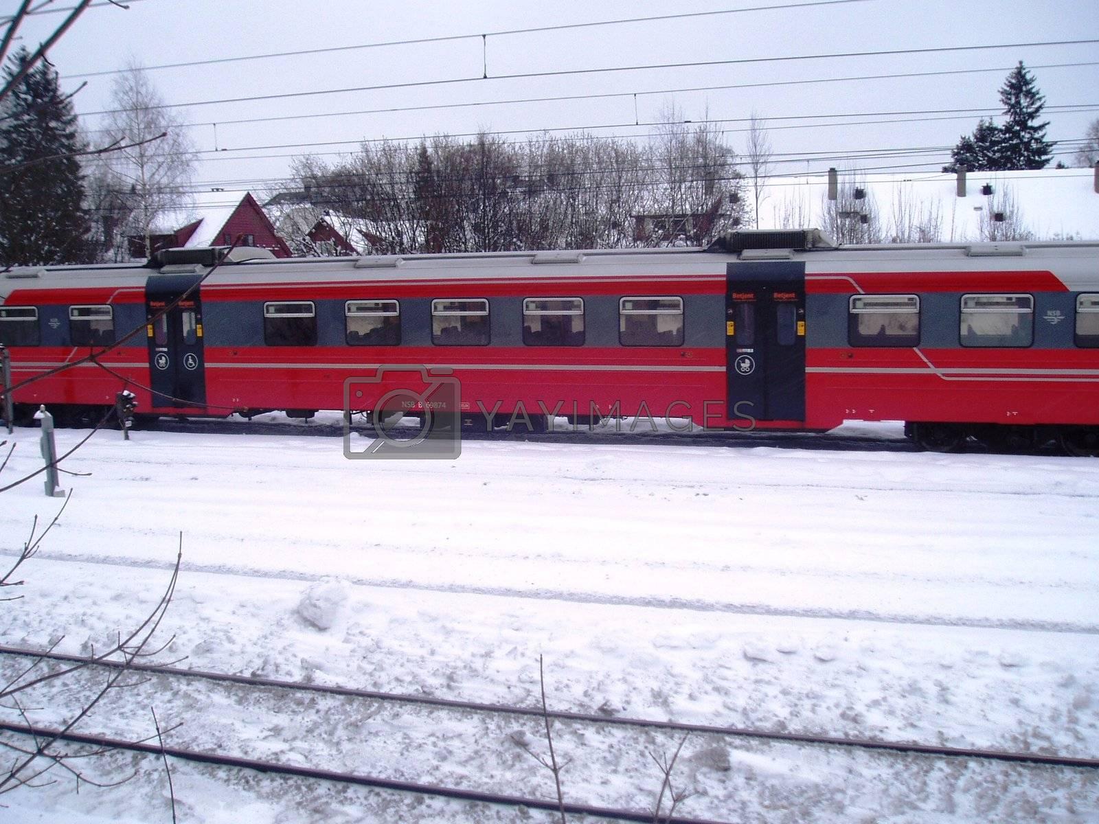 NSB train by CharlottePhoto