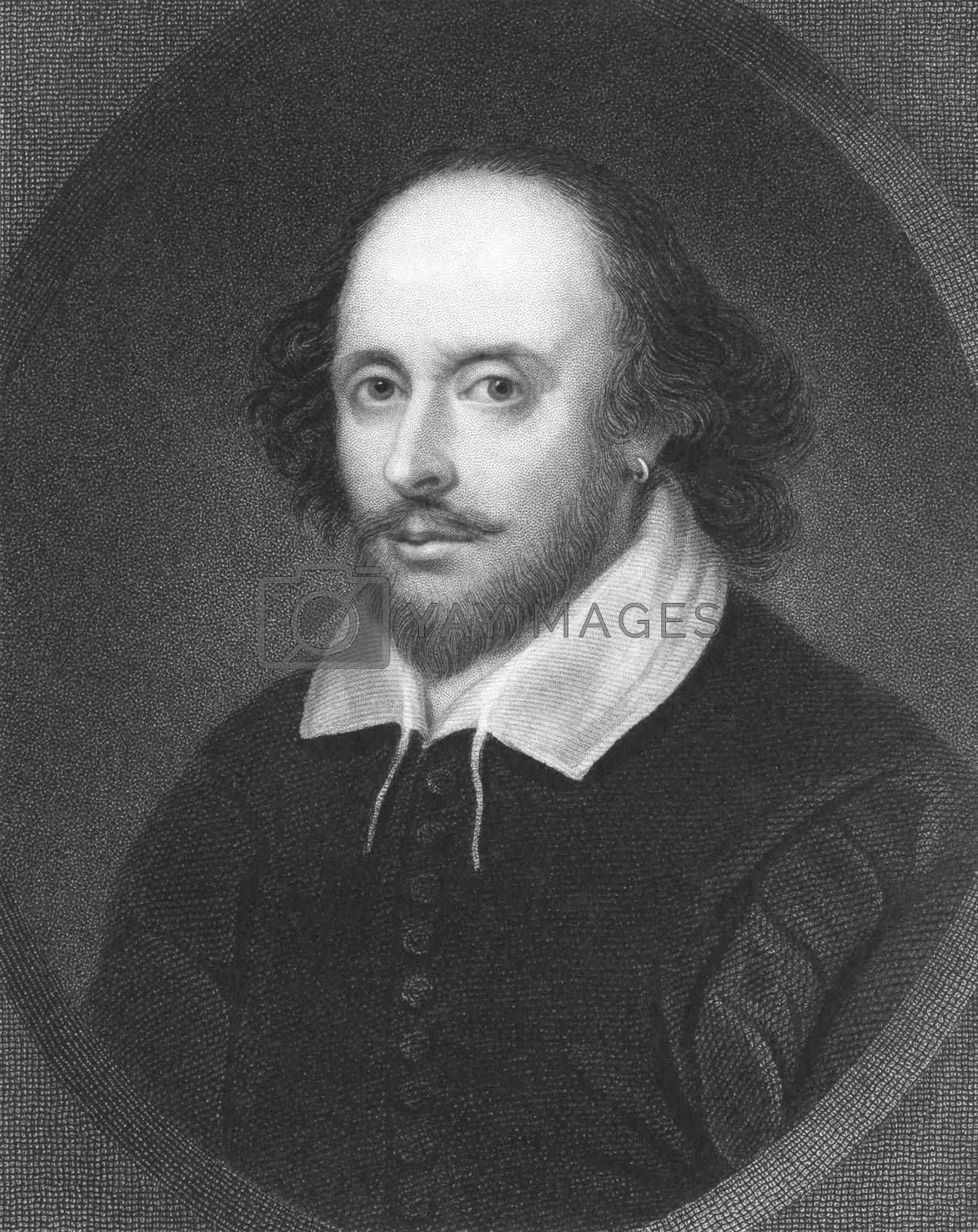 Royalty free image of William Shakespeare by Georgios