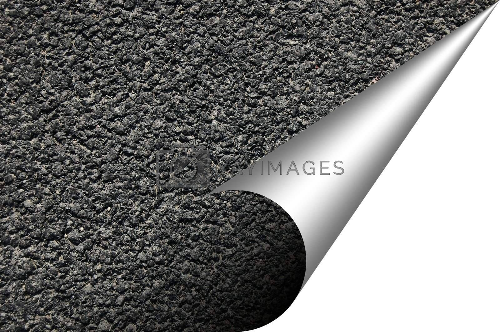 asphalt texture with copyspace by gunnar3000