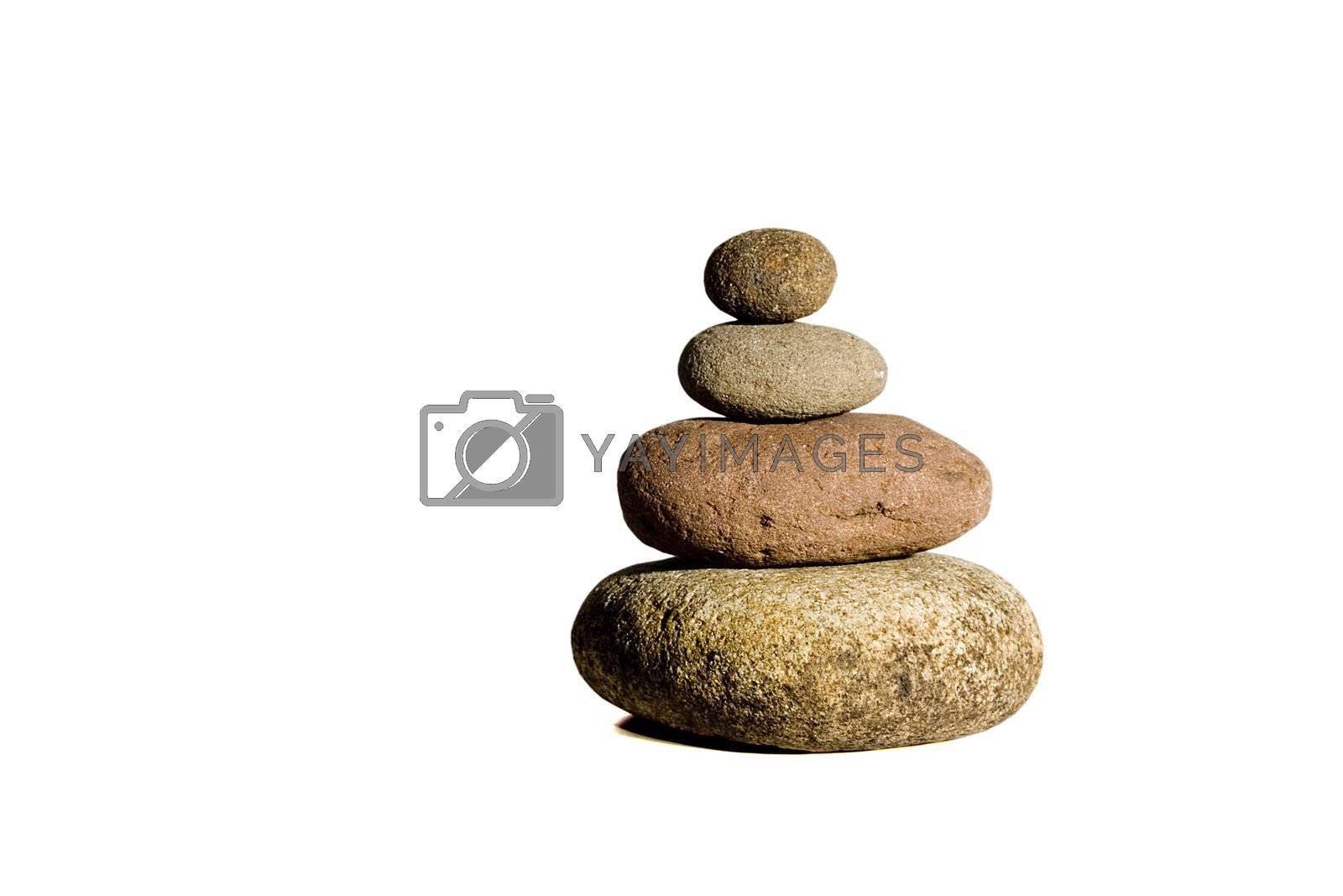 stones by Trebuchet