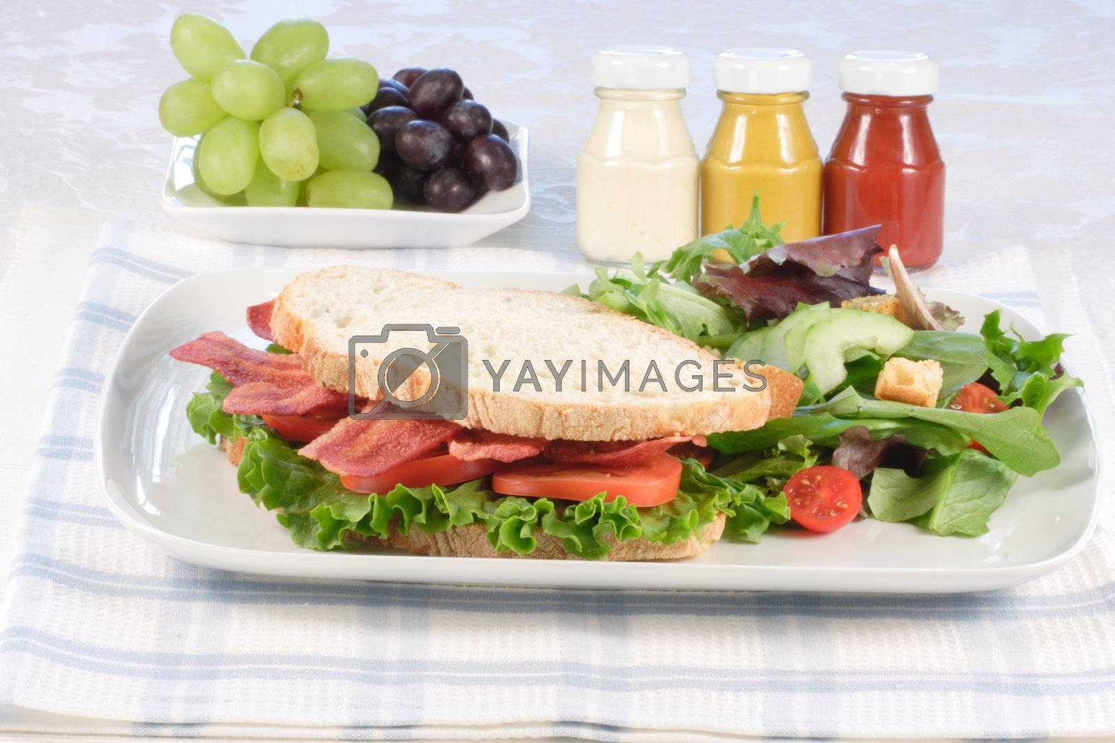 b.l.t organic sandwich by tacar