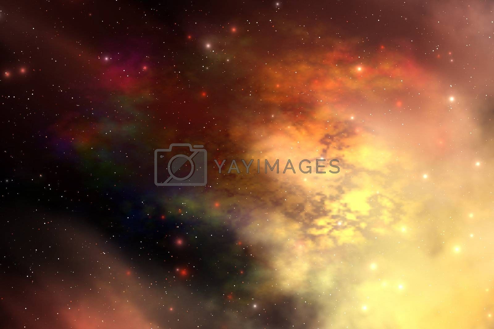 Royalty free image of REFLECTION NEBULA by Catmando