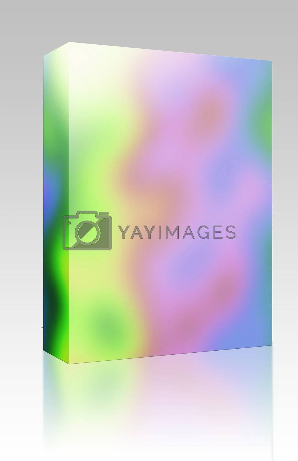 Rainbow colors box package by kgtoh