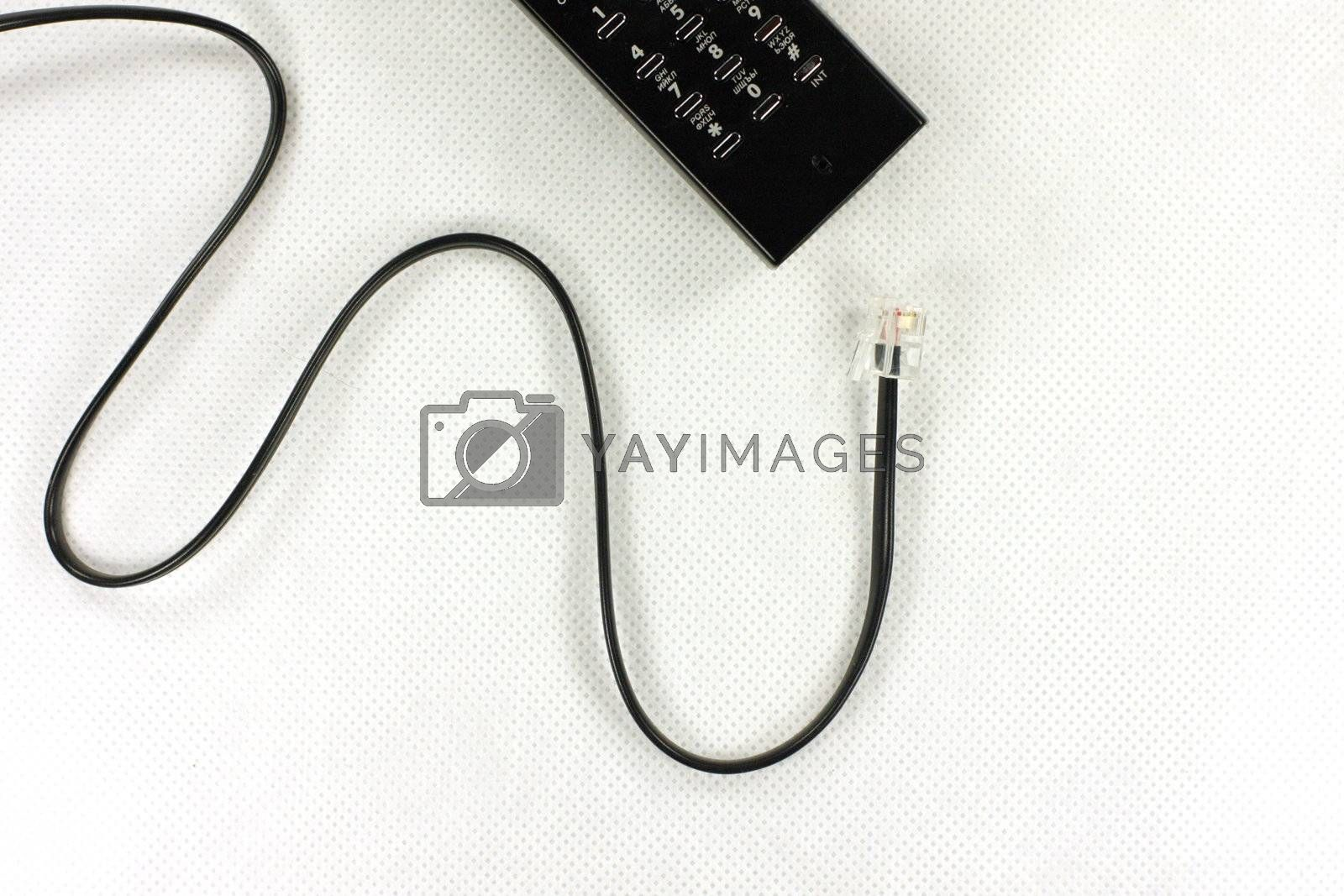 Cable, phone, office, communication, business, conversation, electronics, technologies