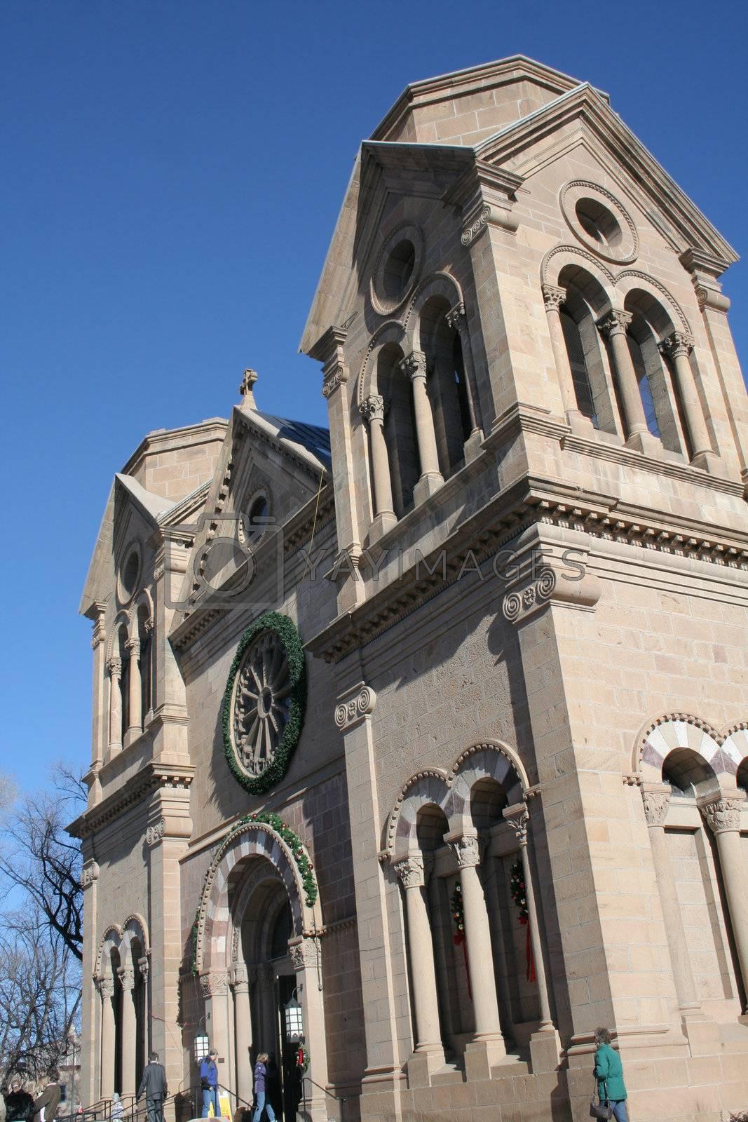 Old Santa Fe church downtown