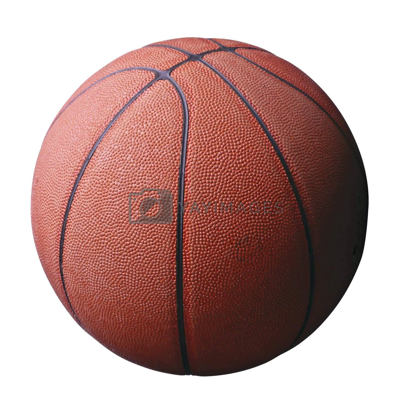 Basketball isolated - with white background
