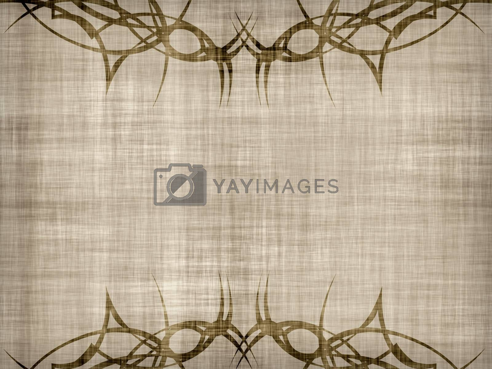 Grungy and dirty background with vintage ornaments