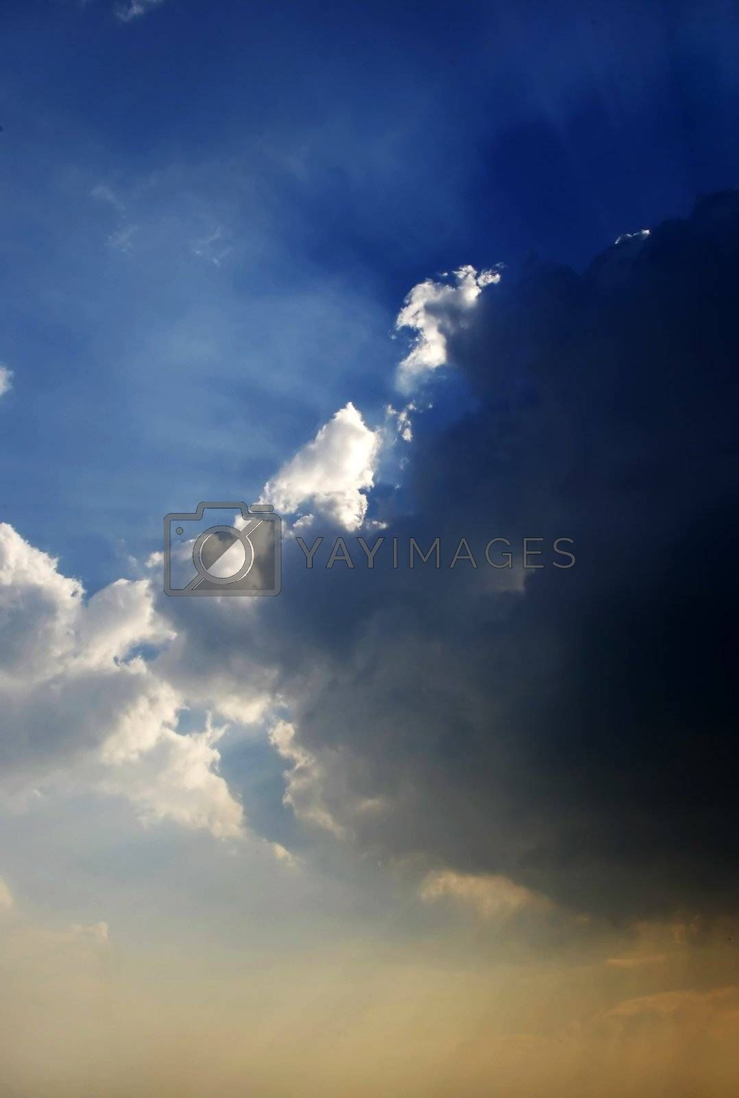 storm clouds by massman
