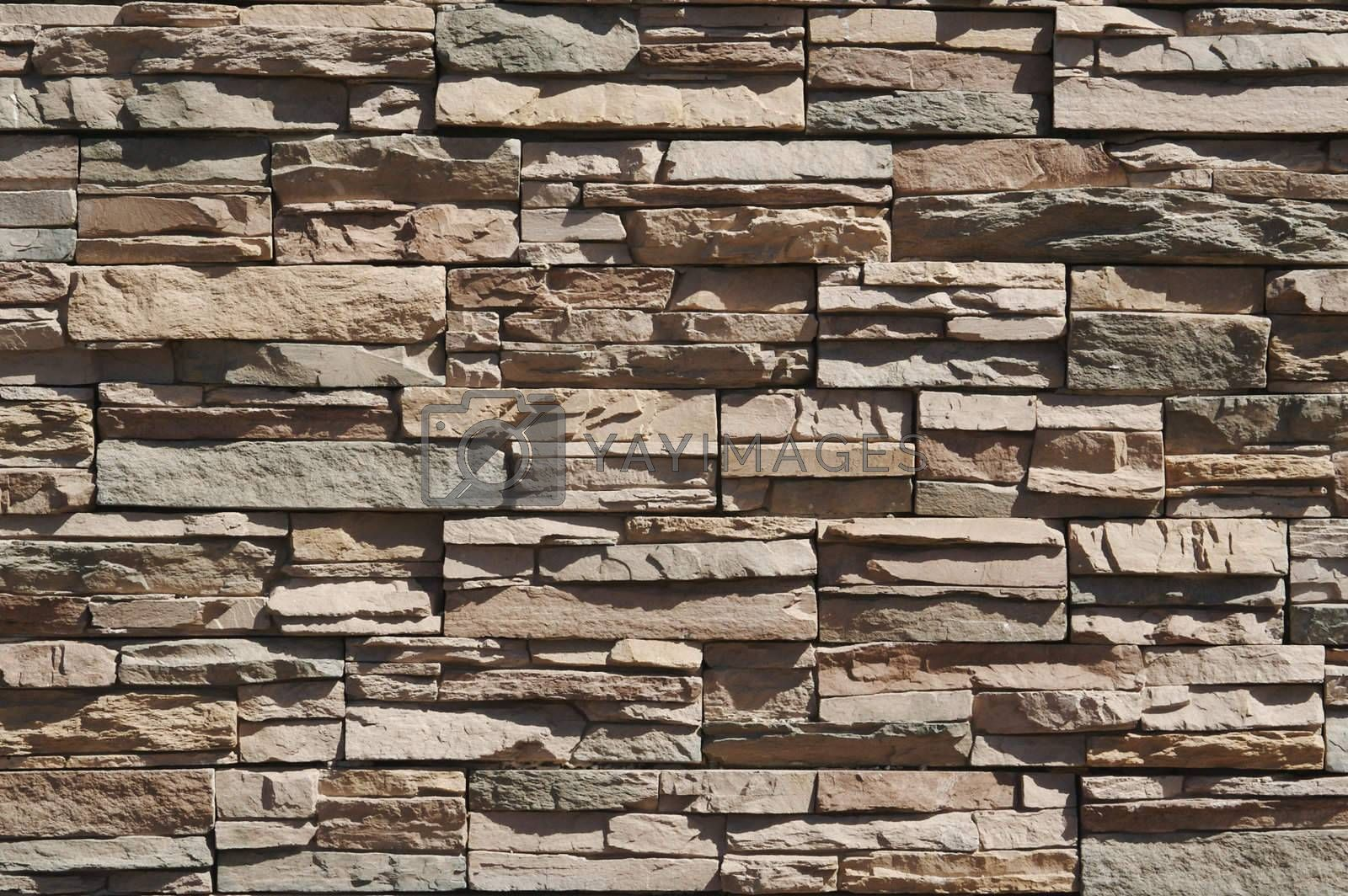 Abstract rock wall background pattern.