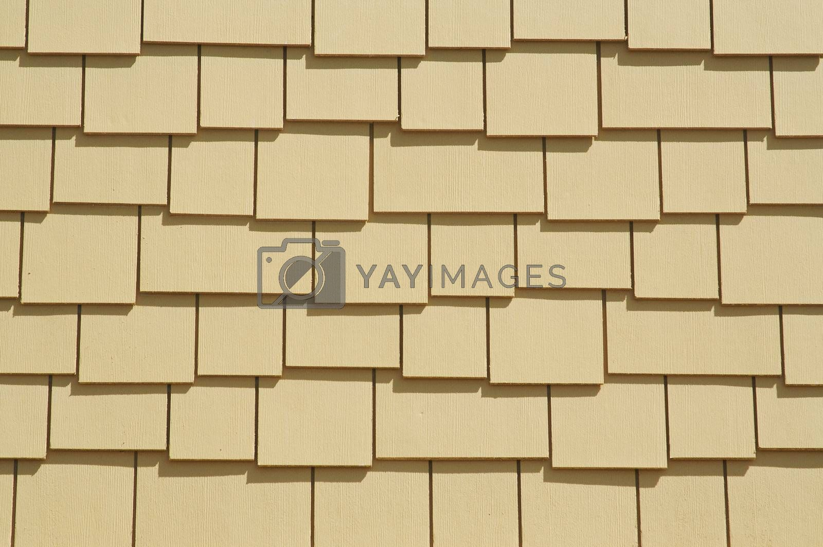 Abstract Shingles Wall Background