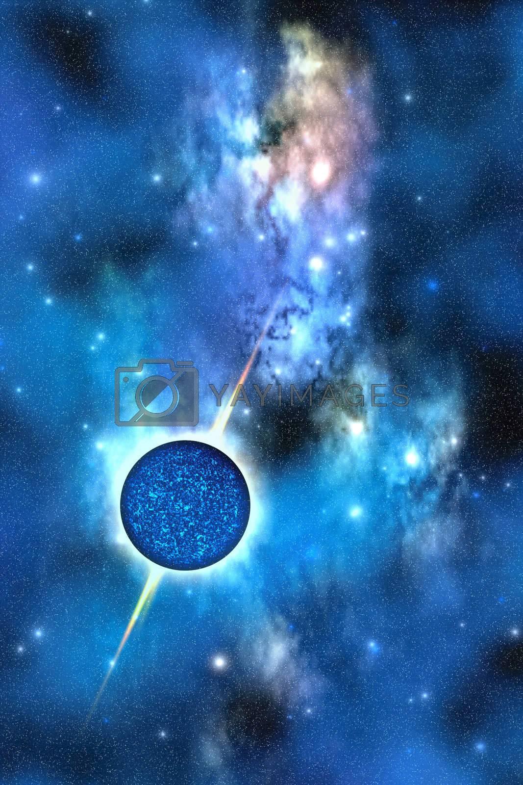 Royalty free image of NEUTRON STAR by Catmando