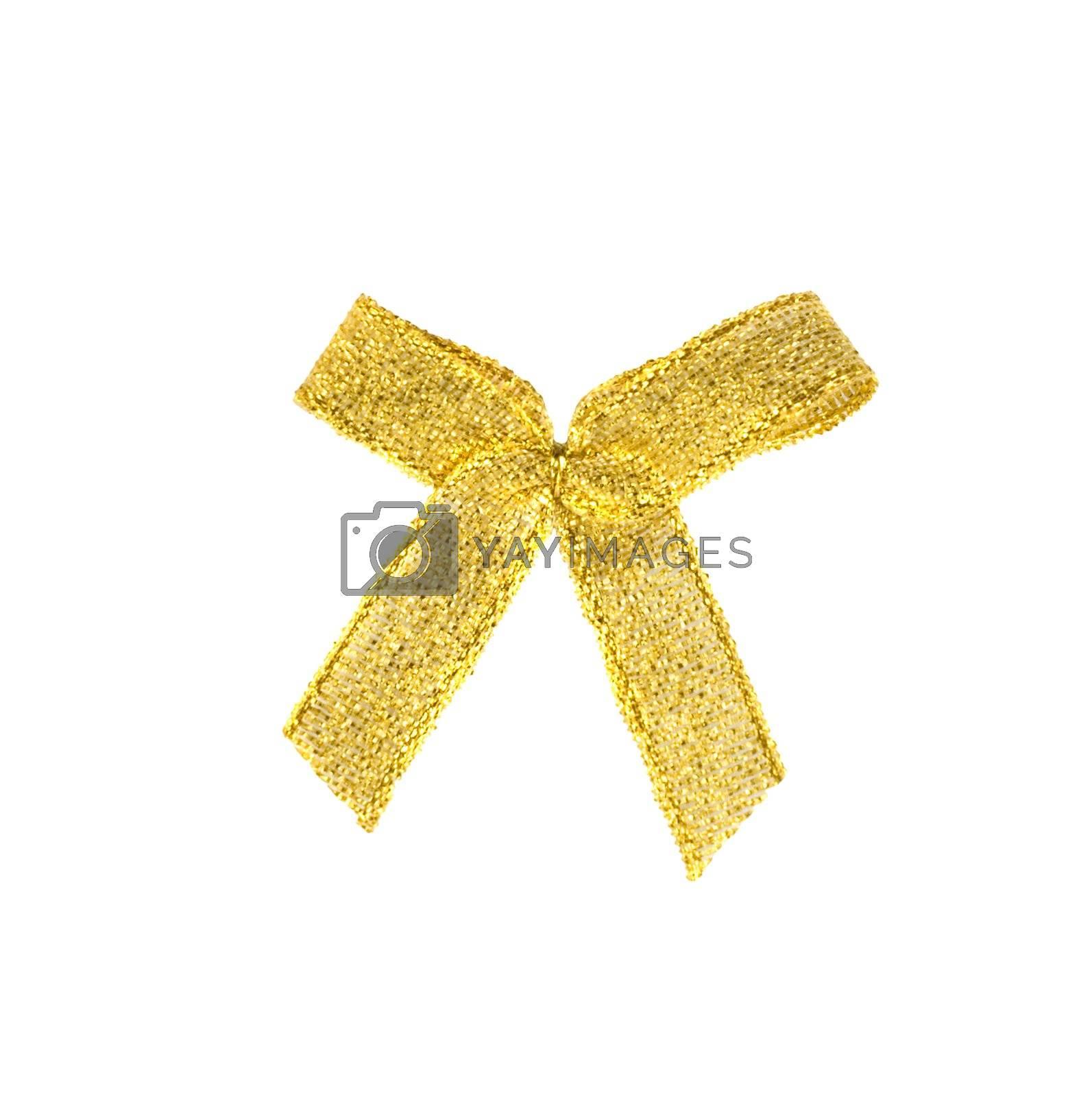 Golden bow by Vladyslav
