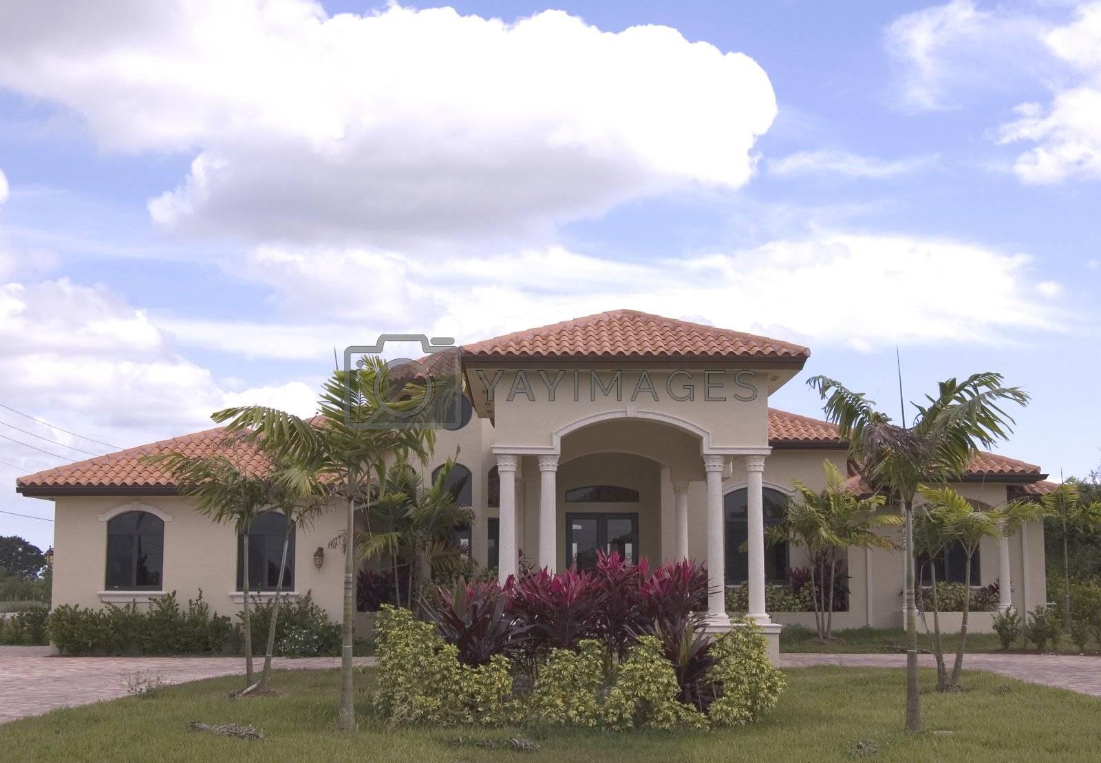 luxury mediterranean style house in miami florida