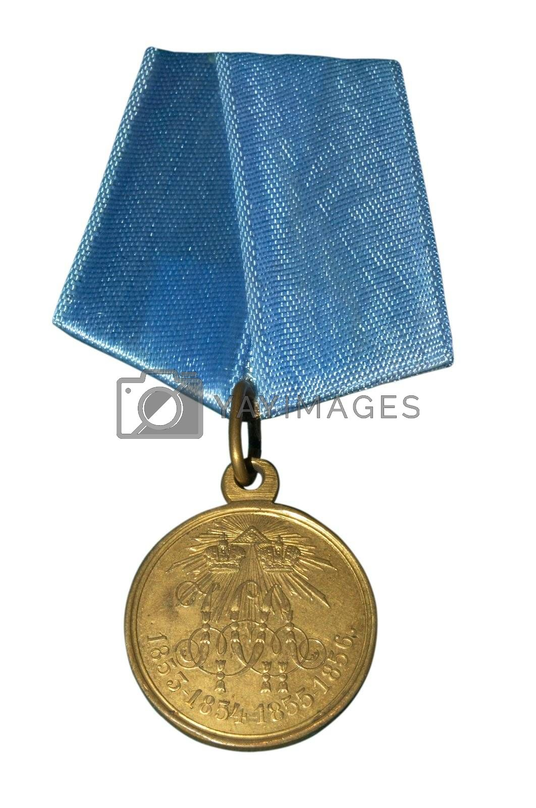 Medal of imperial Russia which awarded in 19 century