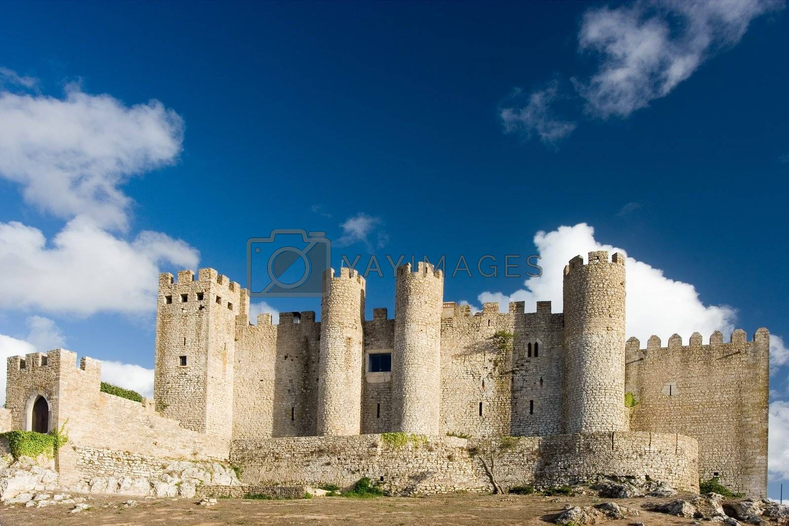 Ancient Castle in Obidos, Portugal