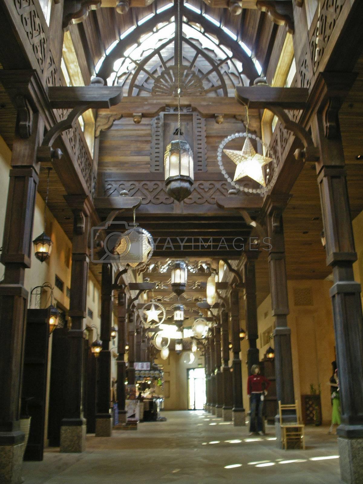 Souk Madinat Jumeirah shopping mall, Dubai by cvail73