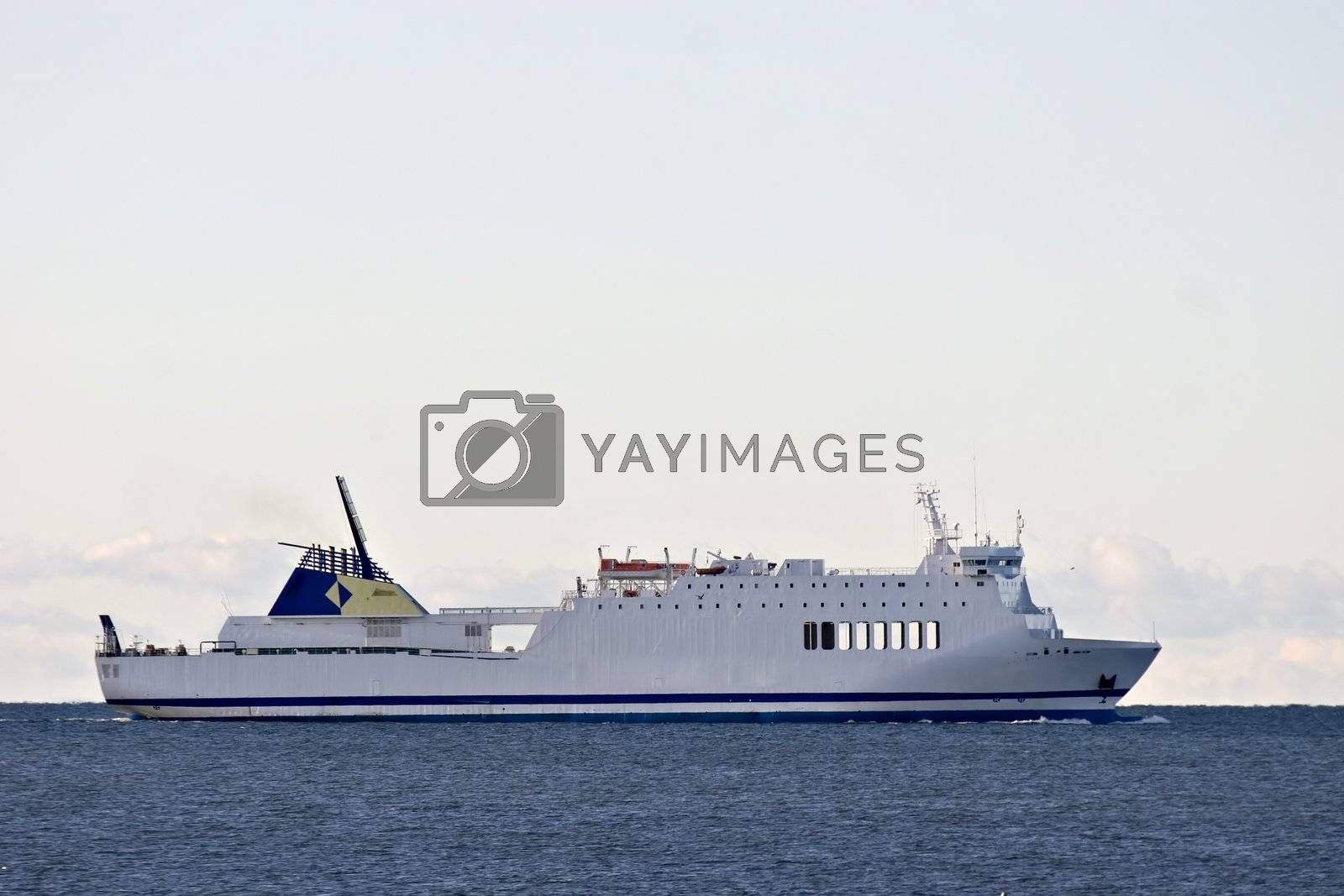 Ferry boat in Sweden