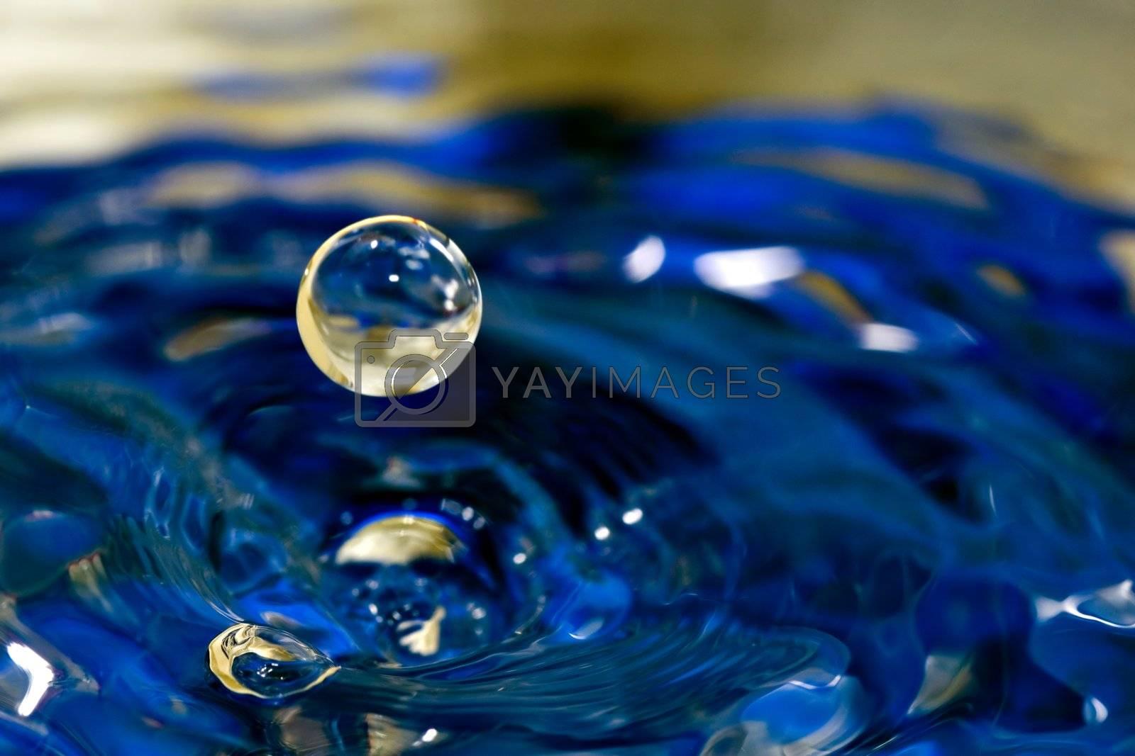 Water sphere drop