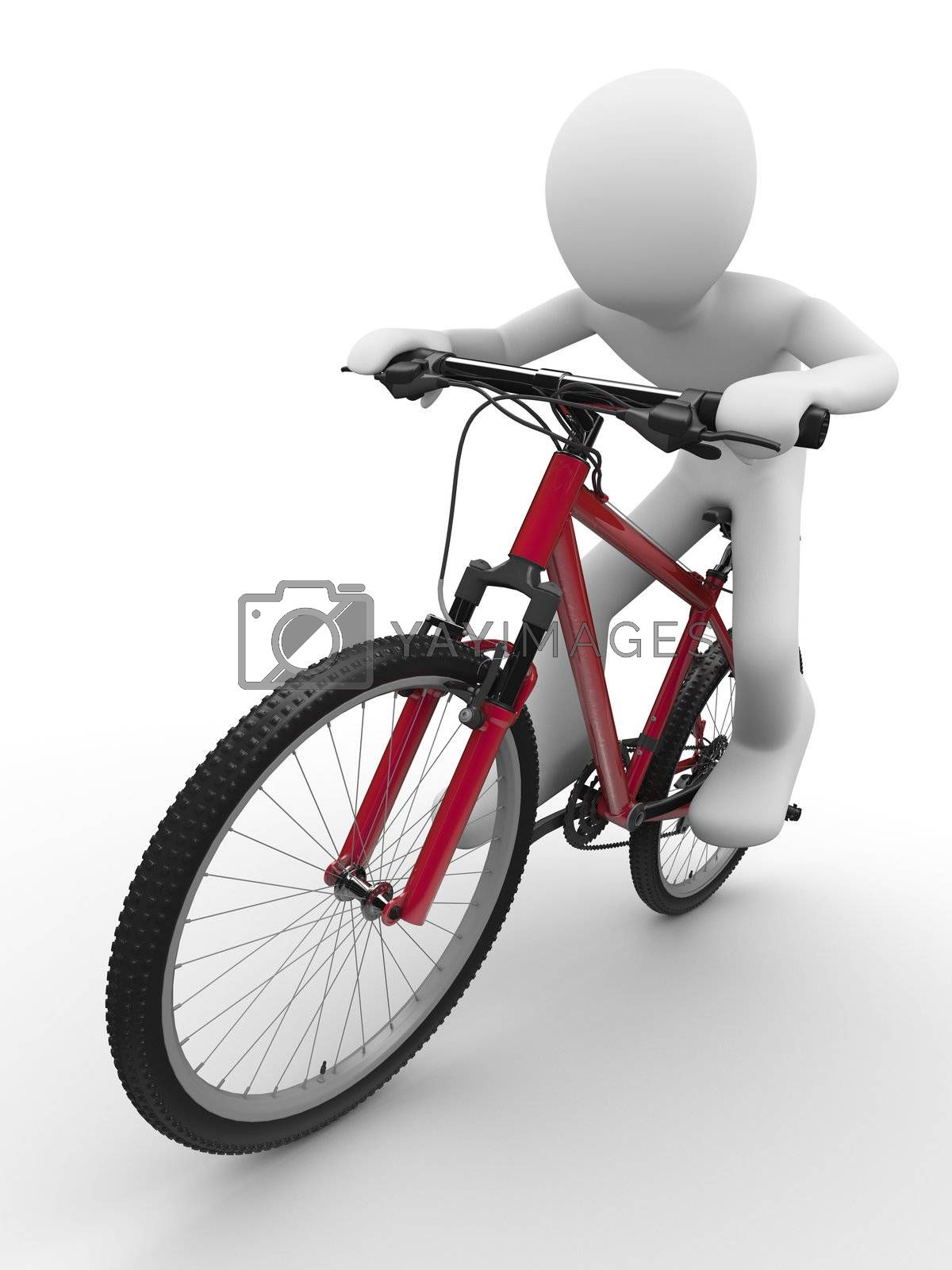 Ride that bike concept