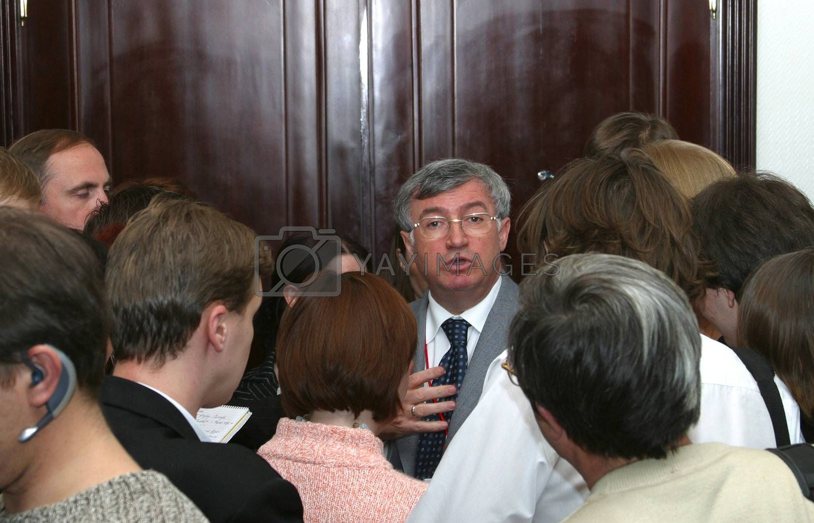 "The president of Open Society ""Transneft"" Semen Vaynshtok"