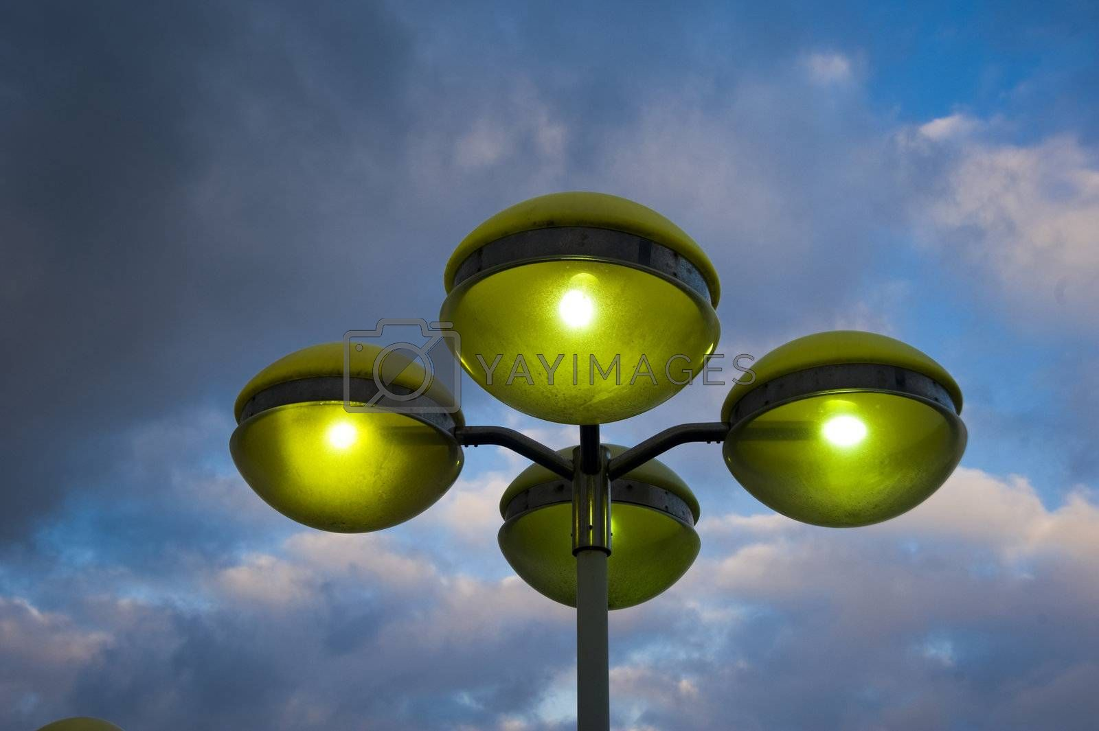 Lamp post by Alenmax