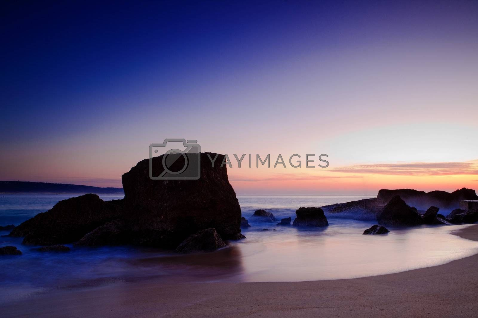 Royalty free image of Beach Landscape by Iko