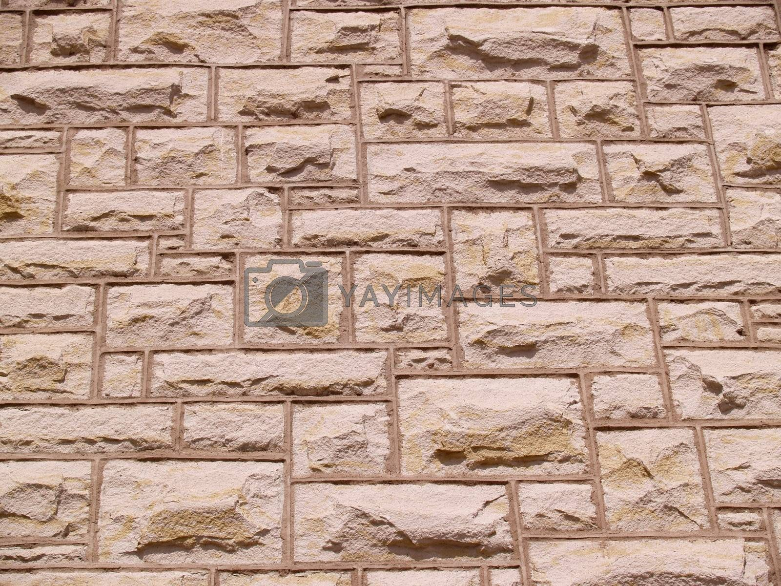 a stone wall background