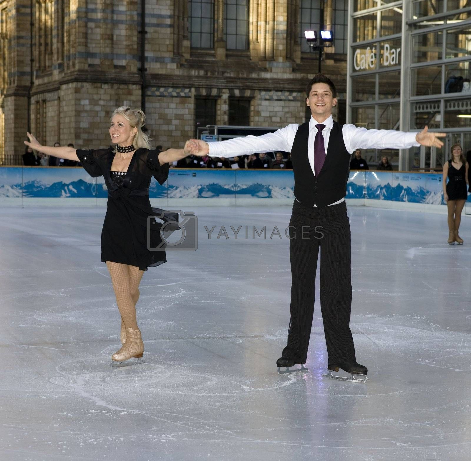 The launch of 'Dancing On Ice' at the Natural History Museum in London - 07 January 2008