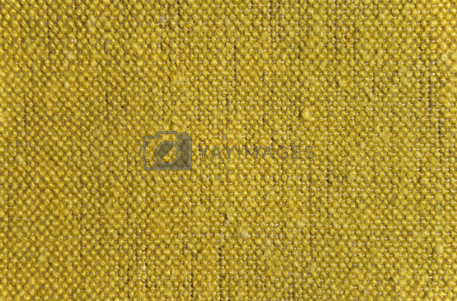 Royalty free image of Rustic linen fabric background by anikasalsera