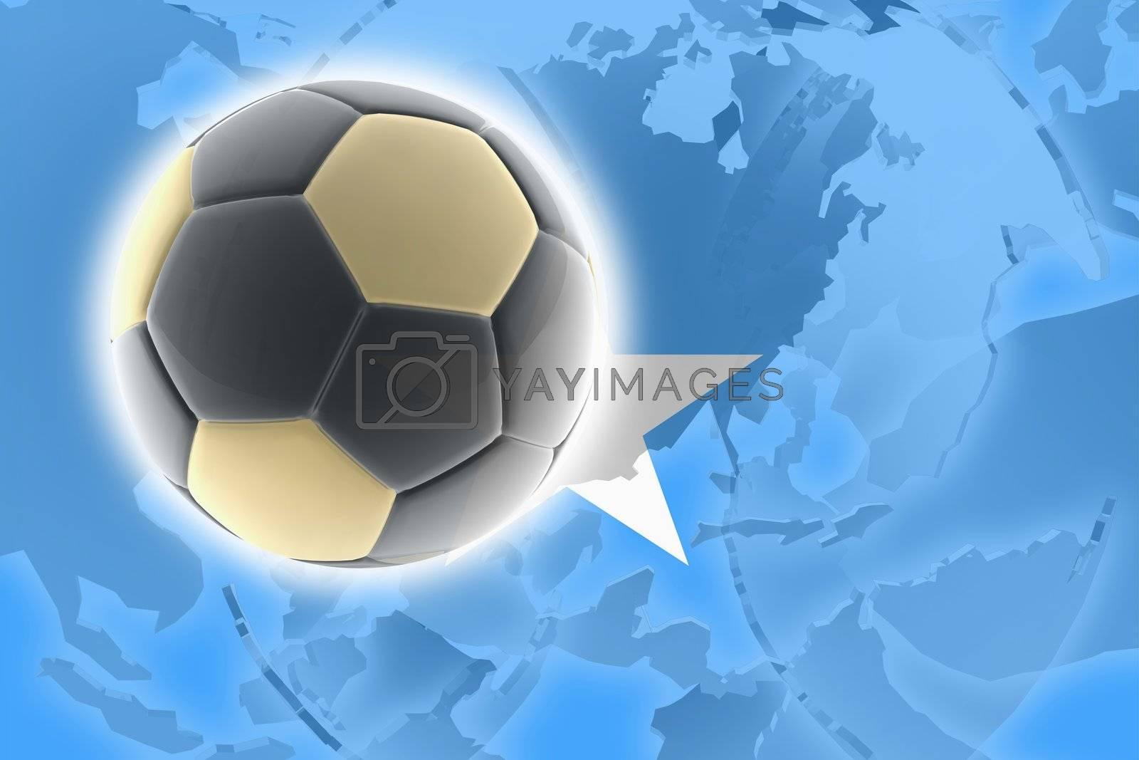 Flag of Somalia soccer by kgtoh