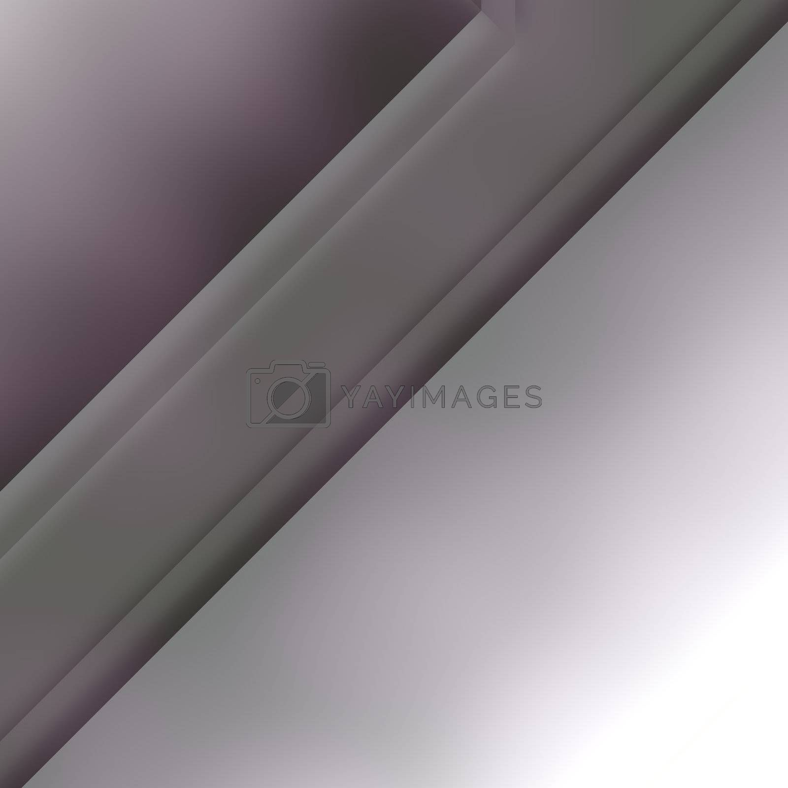 Futuristic technology 3d metal geometric abstract background