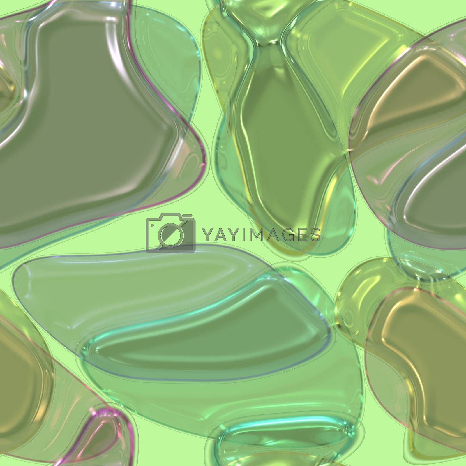 Colorful gel candy glass shapes abstract background texture pattern